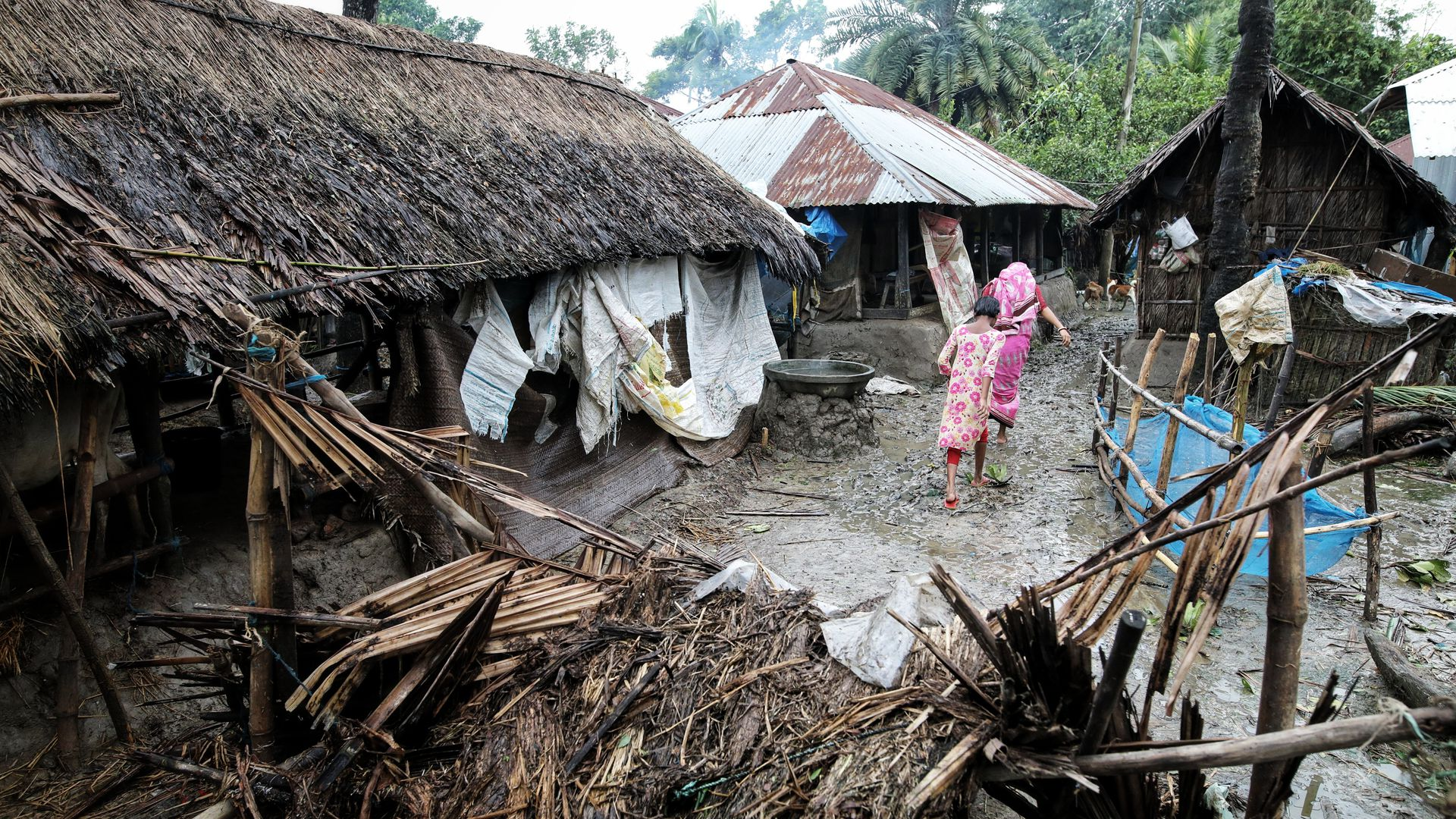 Cyclone Bulbul strikes Bangladesh and India: At least 20 dead and 2 million displaced