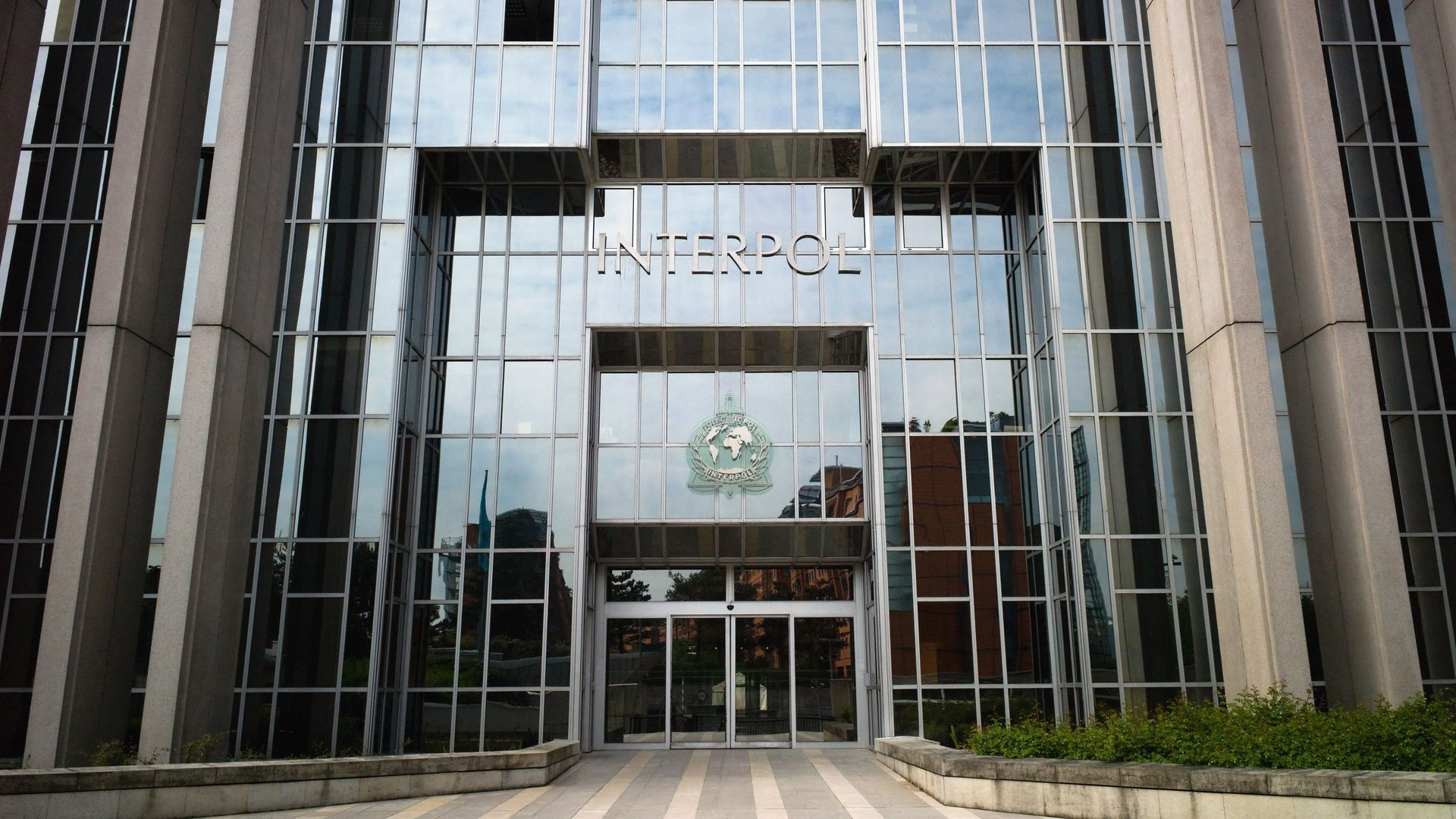 Interpol headquarters in Lyon, France