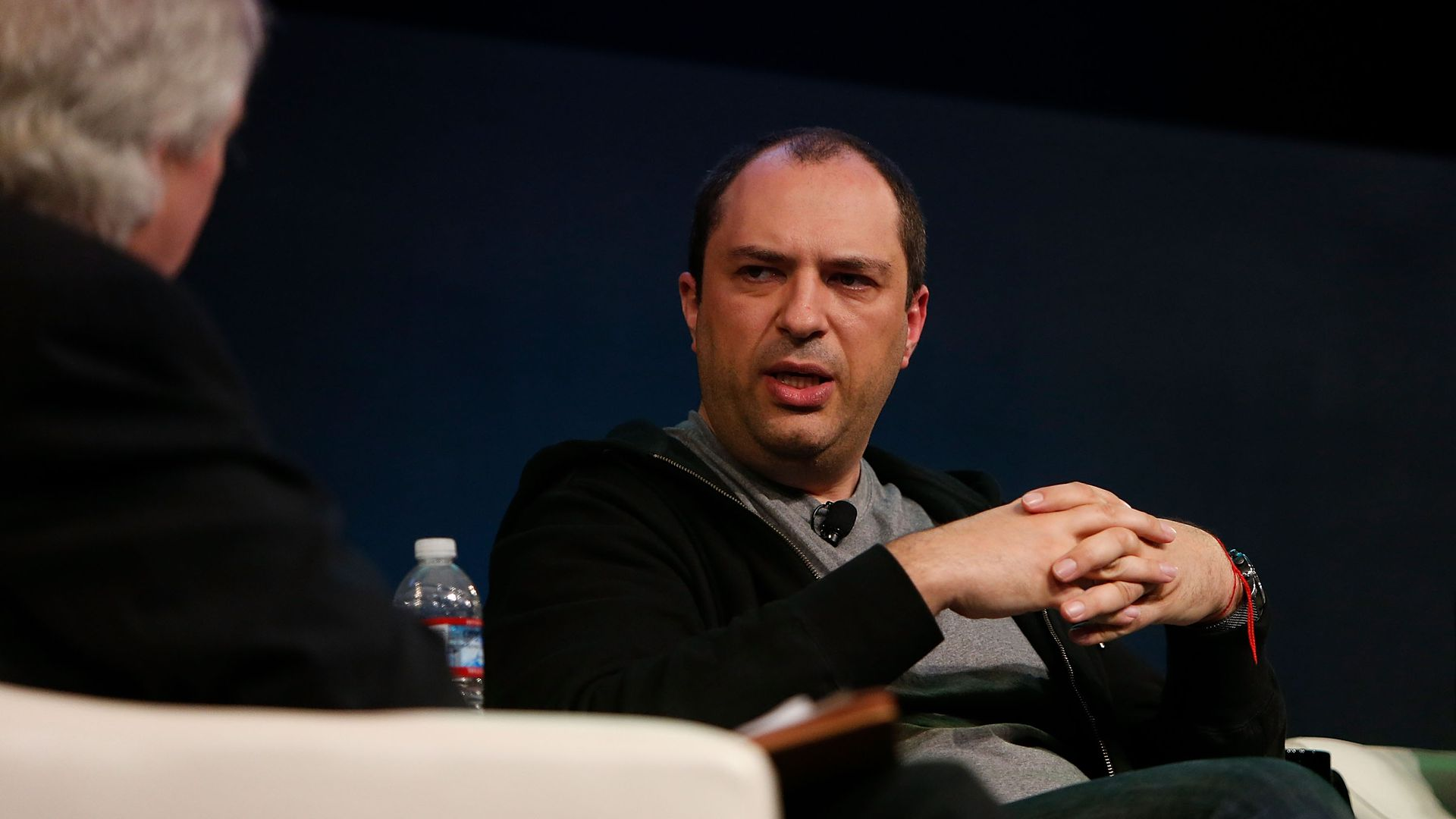 Jan Koum on stage