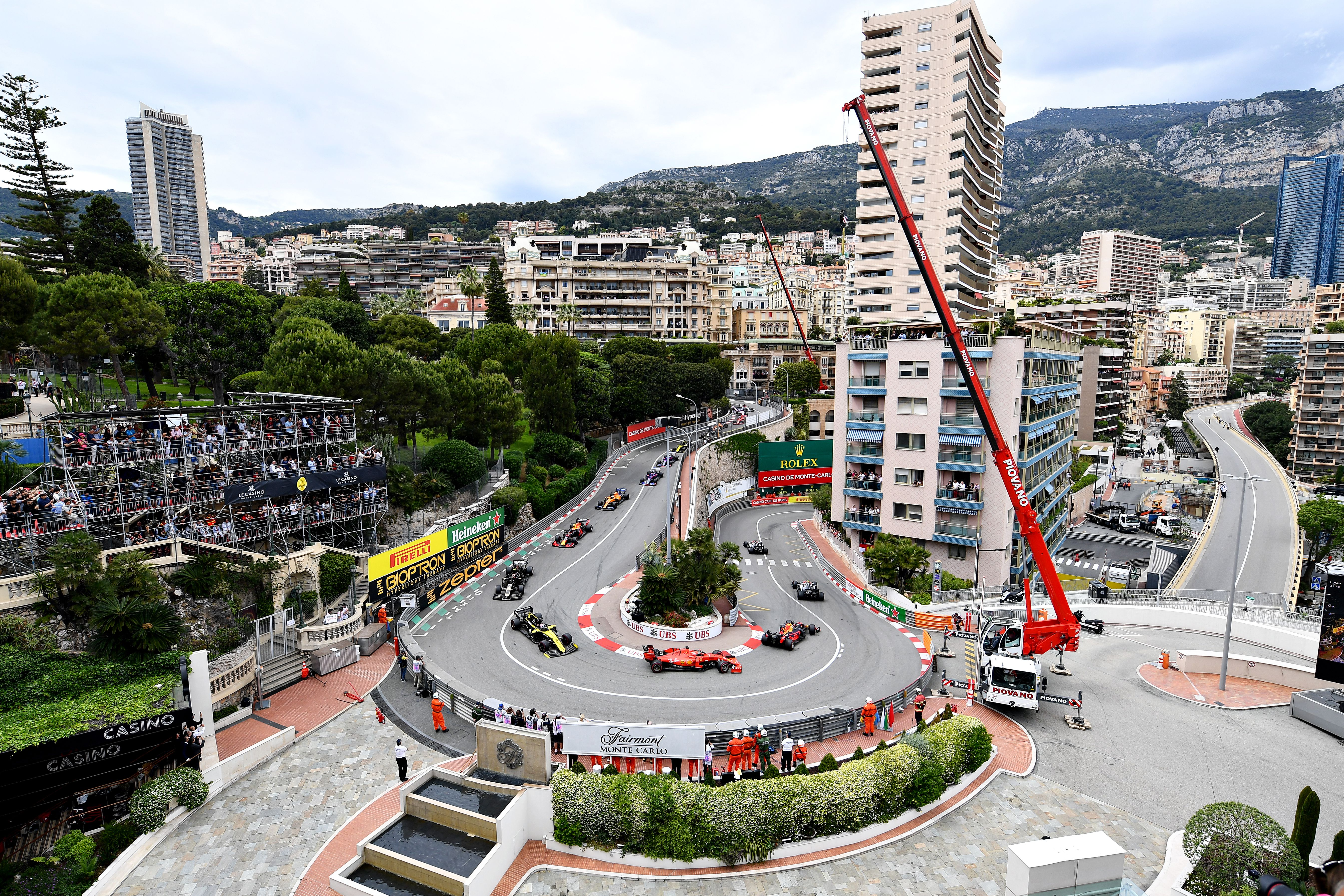 The hairpin section of the Monte Carlo GP