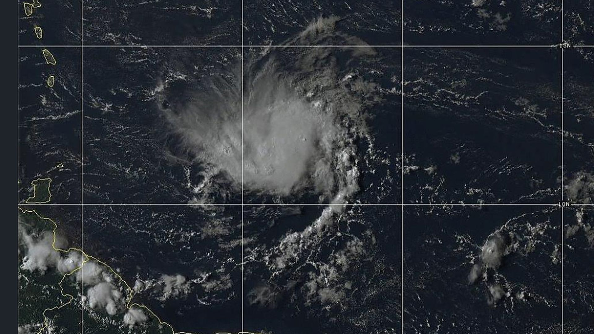 Tropical Storm Dorian may strengthen into a hurricane when it reaches Puerto Rico