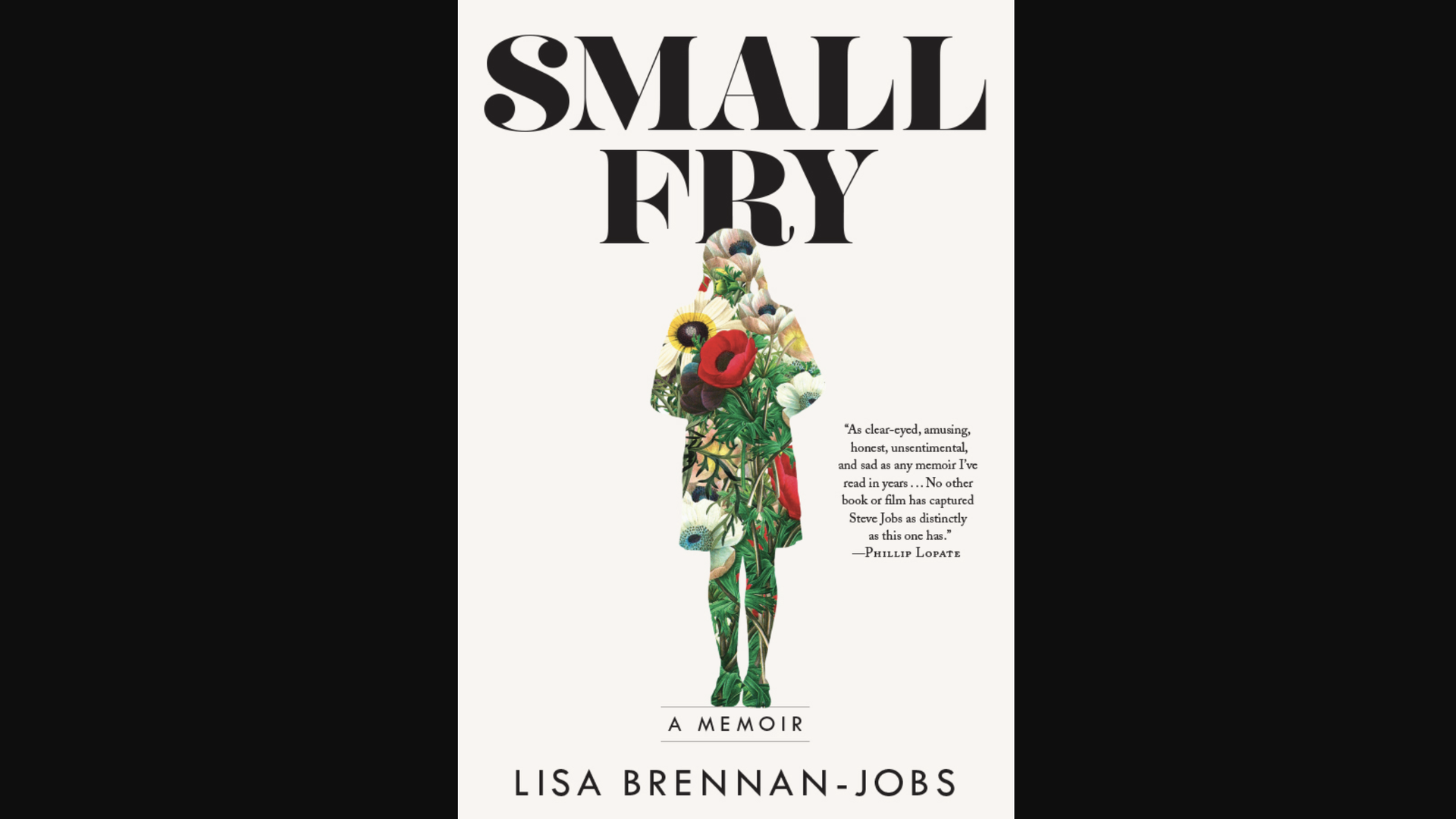 Book cover of Small Fry, the forthcoming memoir from Lisa Brennan-Jobs