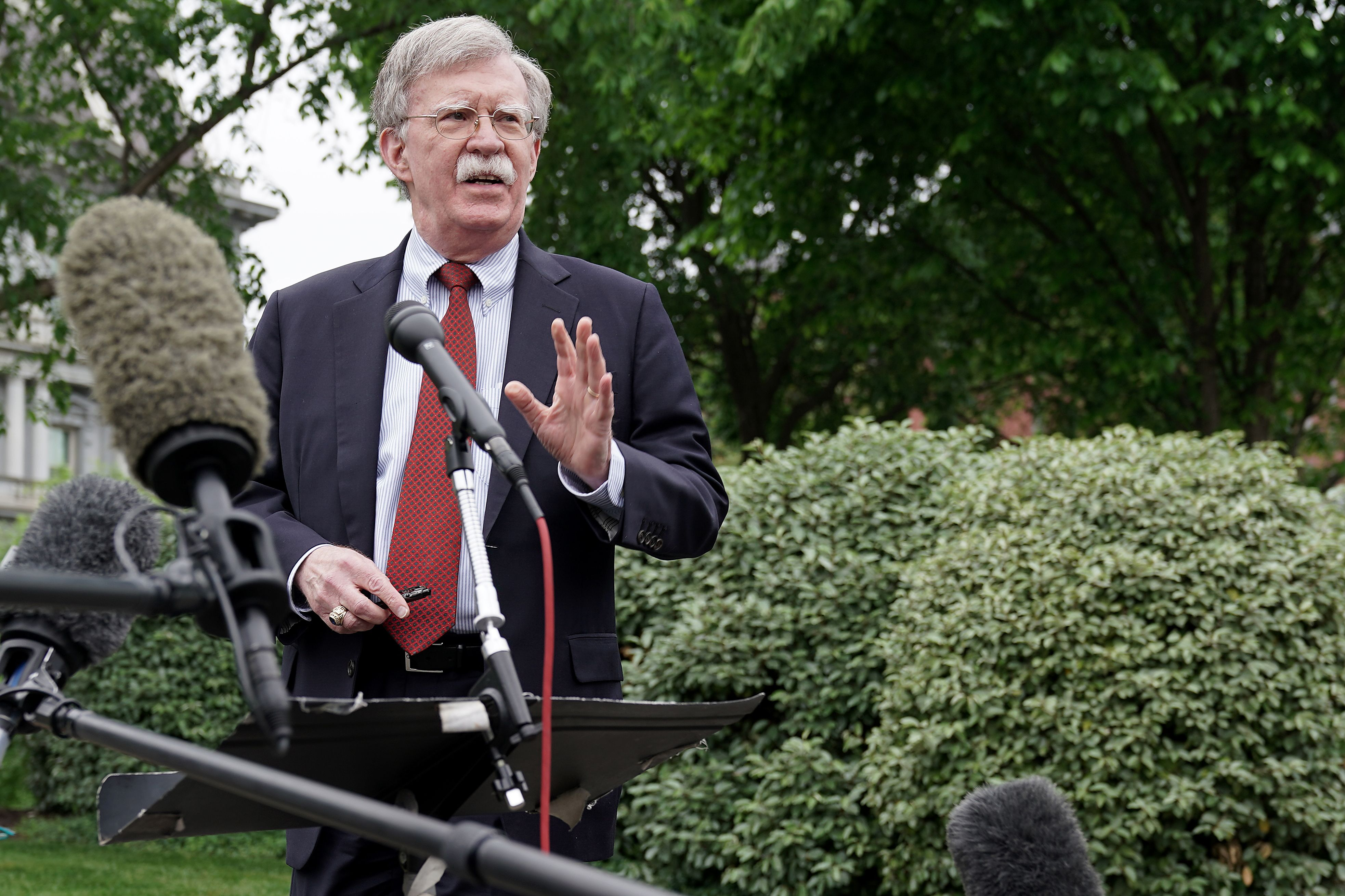 Iran tension: Bolton suggests Tehran is seeking nuclear weapons - Axios