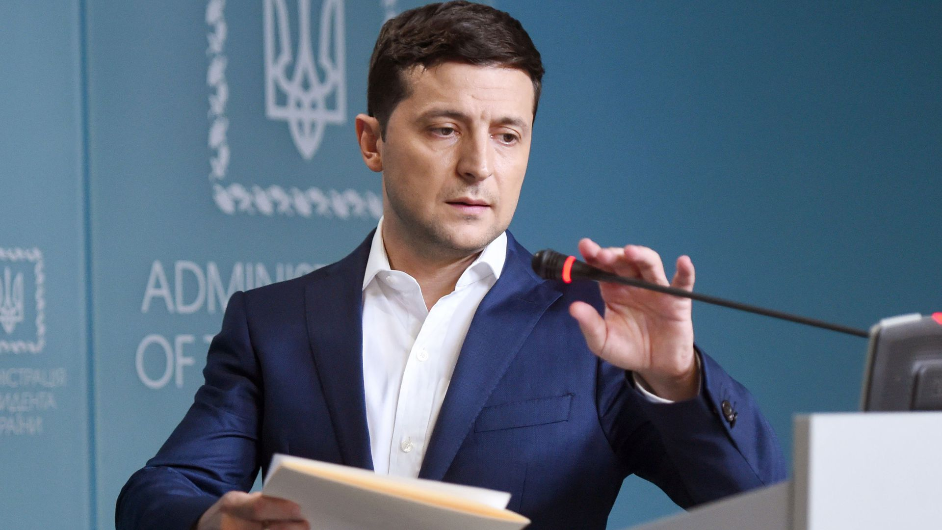 Checking in on Ukraine's TV star turned president