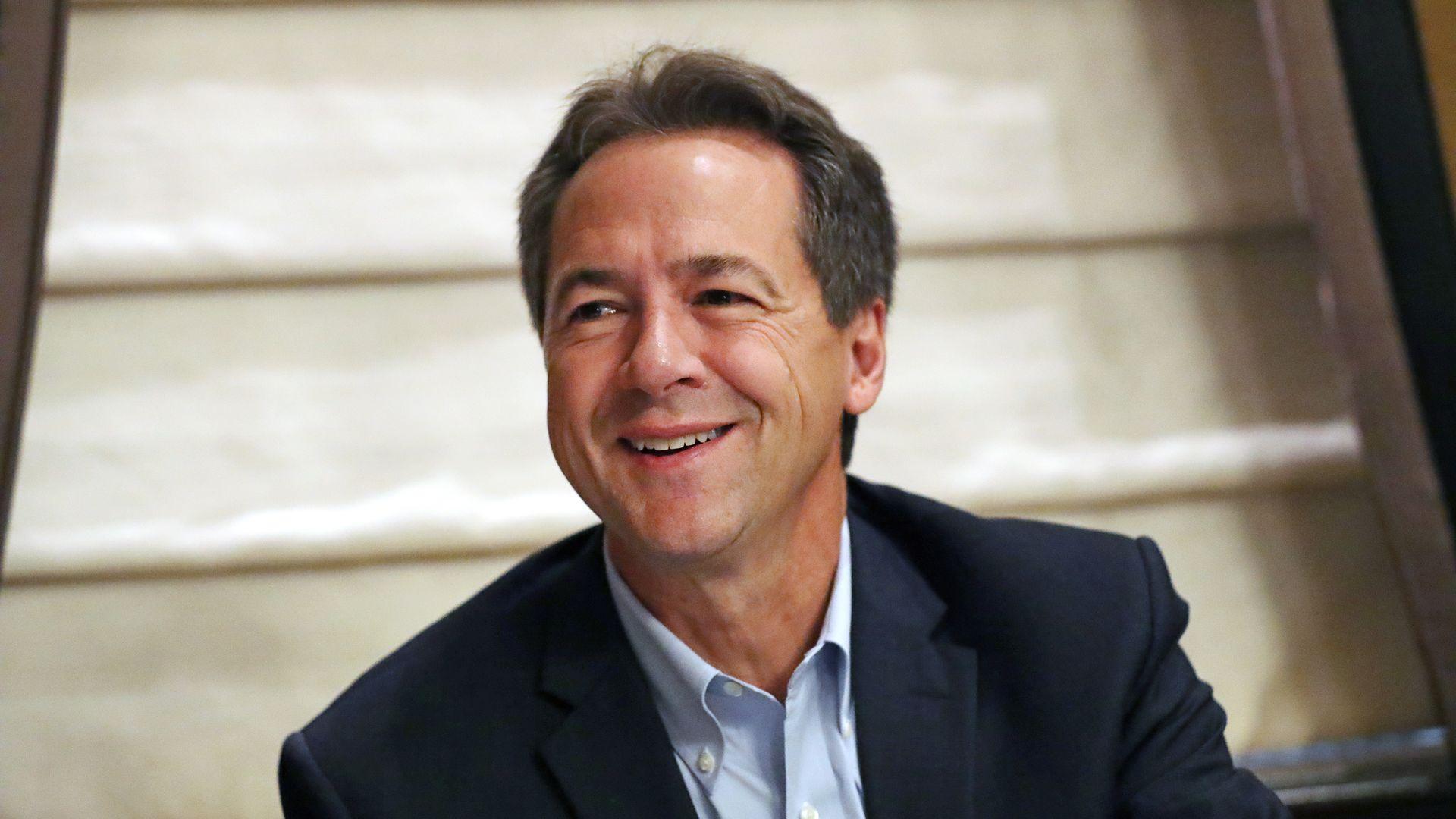 2020 Democratic presidential candidate Montana Gov. Steve Bullock