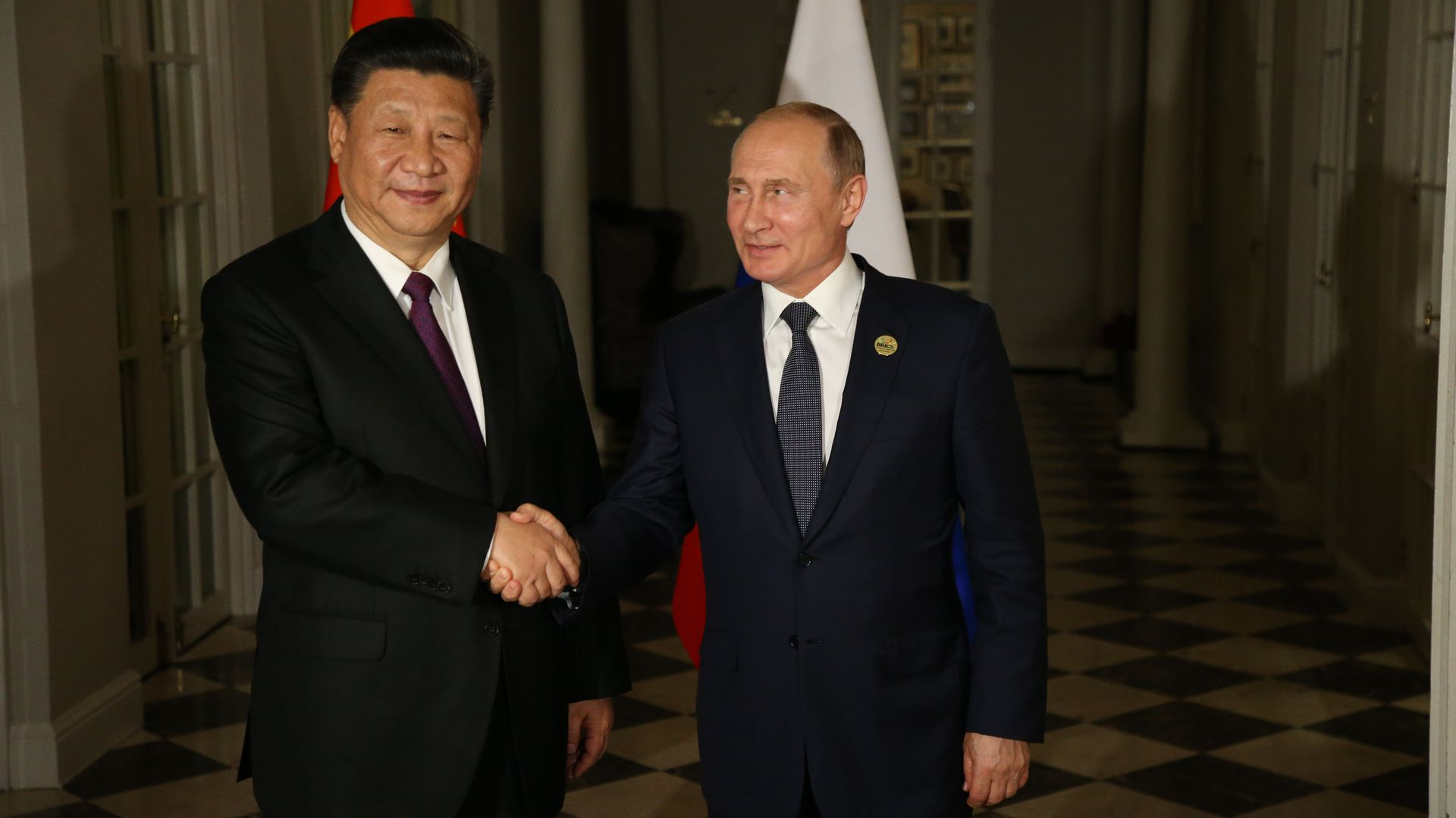 China And Russia Inch Closer Together Axios