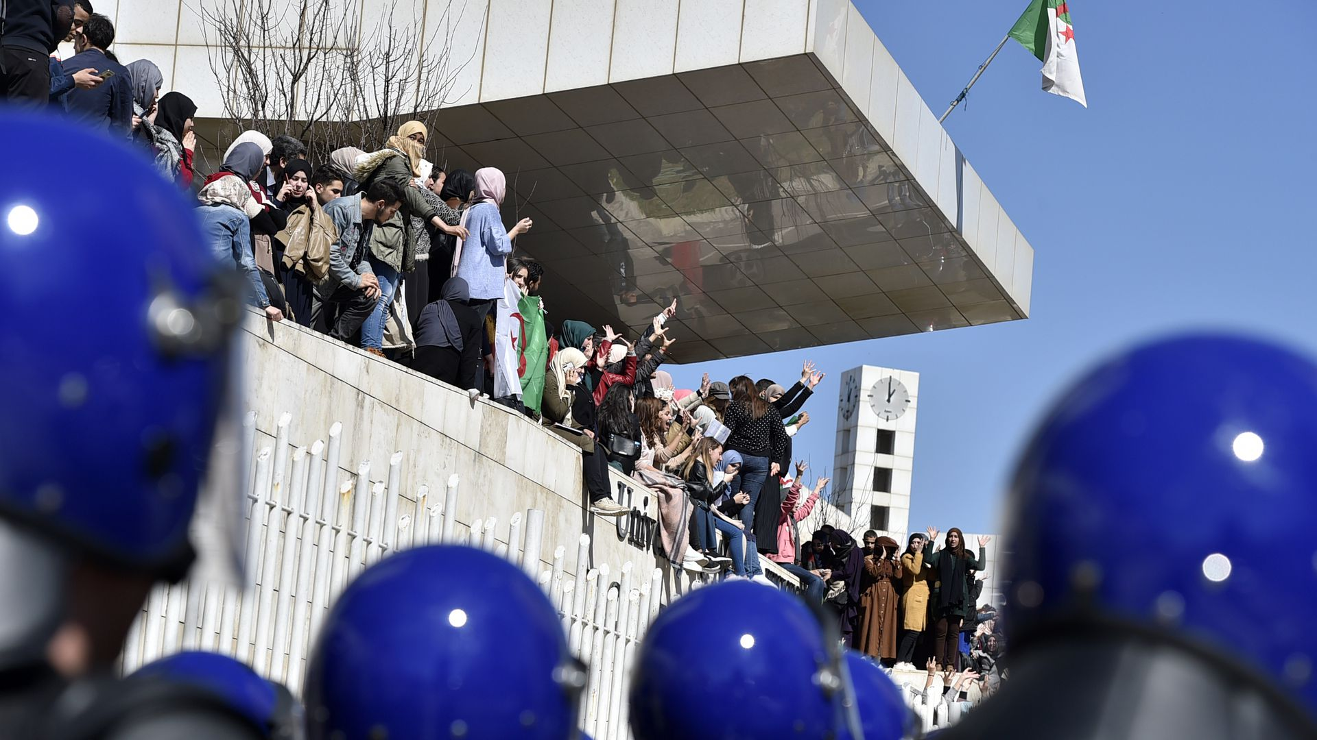 A late spring: Uprisings shake regimes in Algeria and Sudan