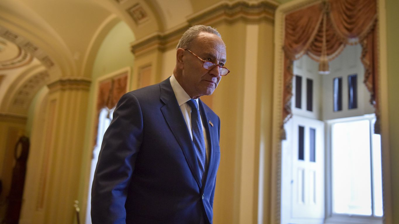 Schumer: Trump impeachment trial to start week of Feb. 8 thumbnail