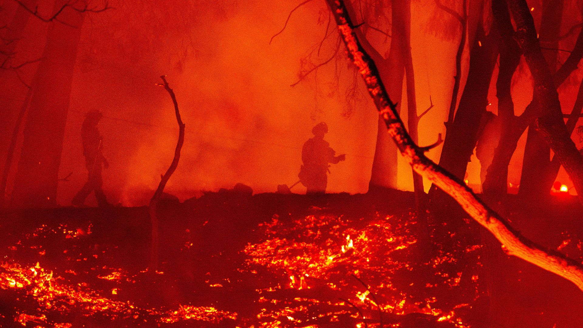 "California's record fire season: ""Well over 4 million acres"" burned"