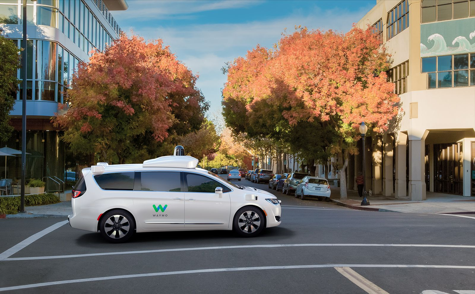Waymo obtains California permit for fully driverless testing - Axios
