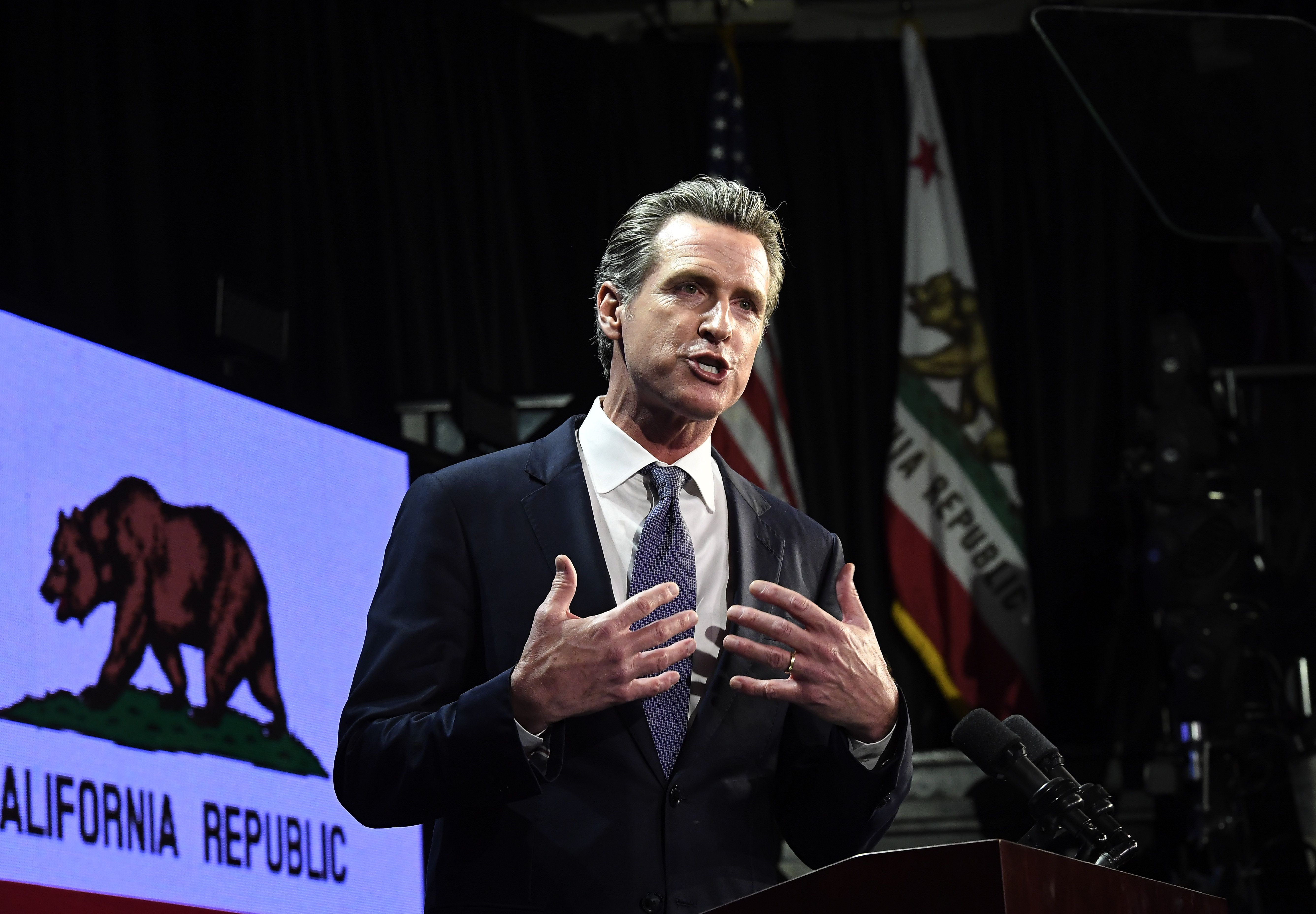 "A ""turning point"": Newsom announces more coronavirus cases in California"