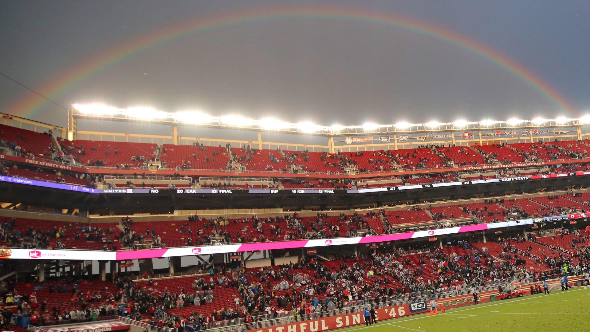 Levis Stadium in Santa Clara, Calif., on Nov. 20, 2016.