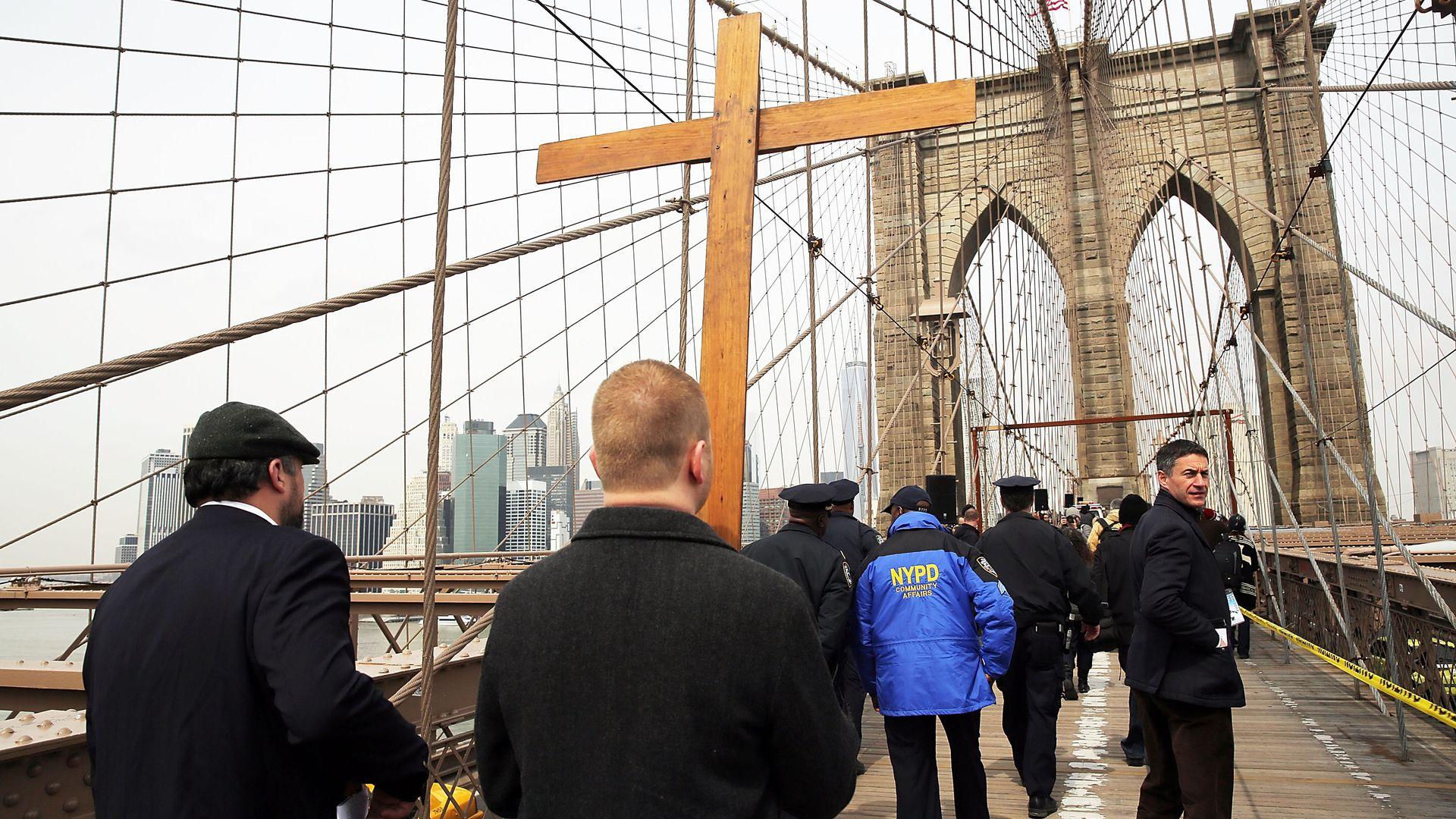 Members of the Archdiocese of New York and the Diocese of Brooklyn