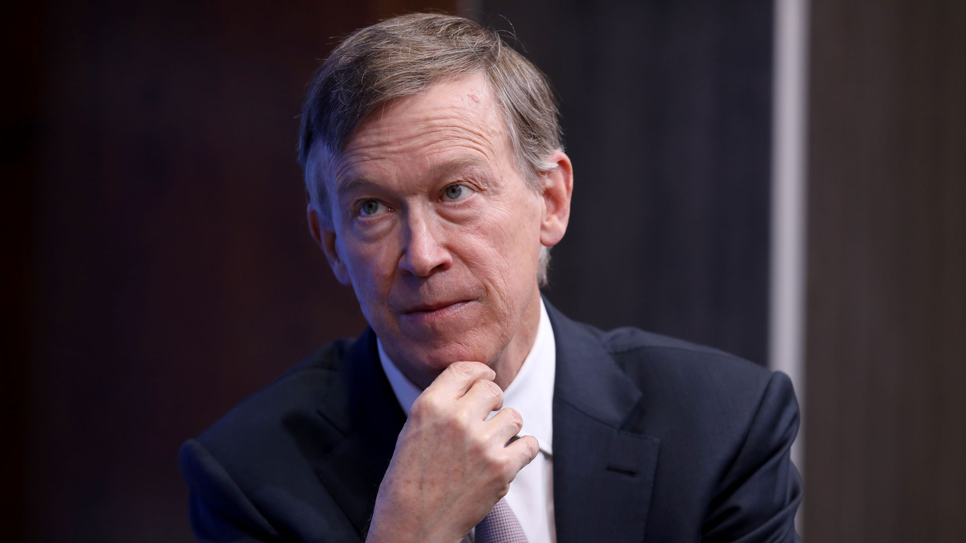 Former Colorado Gov. John Hickenlooper and 2020 Democratic presidential candidate.