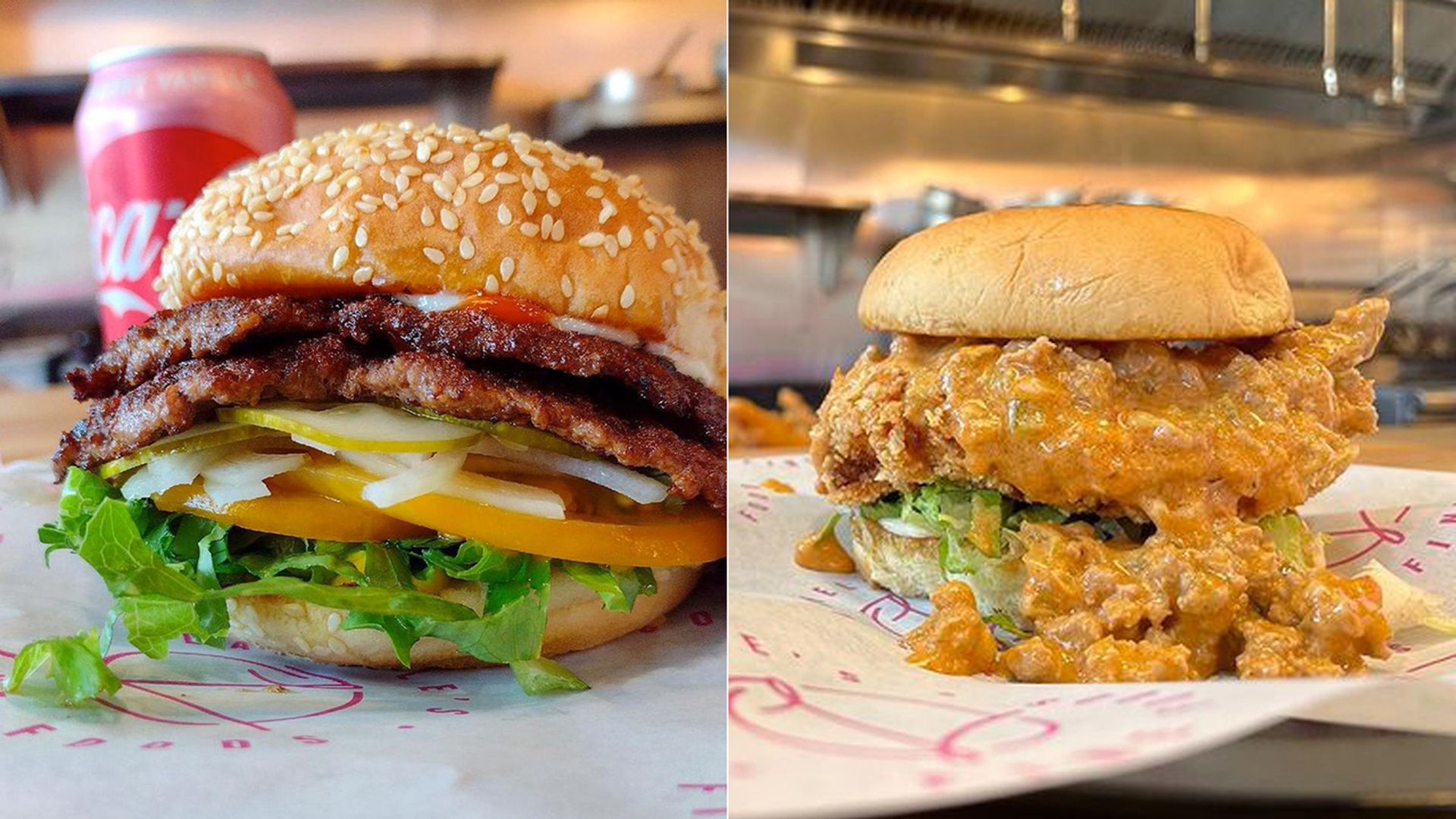Burger specials from Lachele's