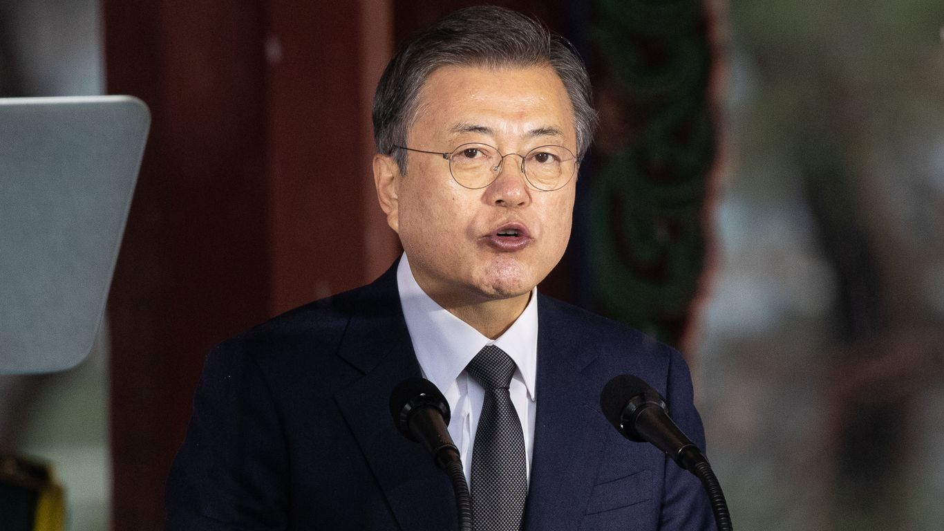 "South Korean President: Trump ""beat around the bush and failed"" in North Korea"