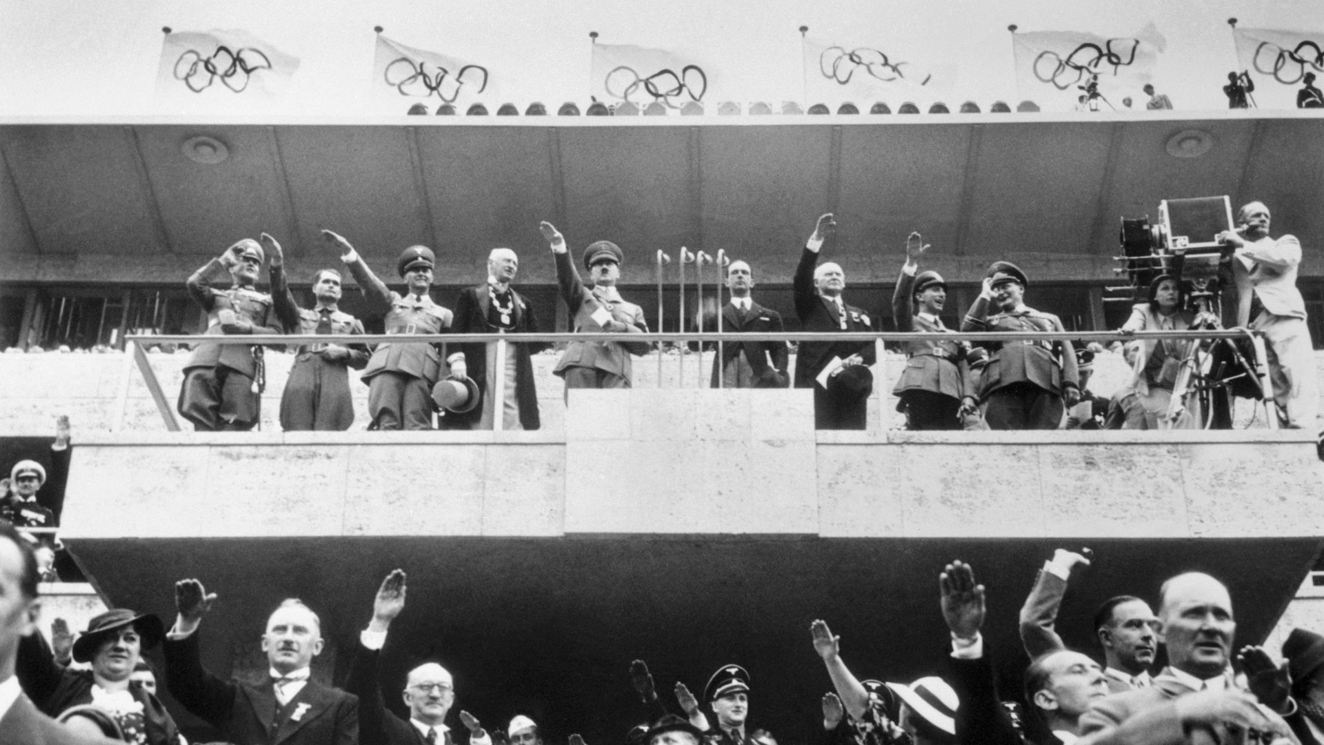 PUTIN WORLD CUP COMPARED TO HITLER OLYMPICS