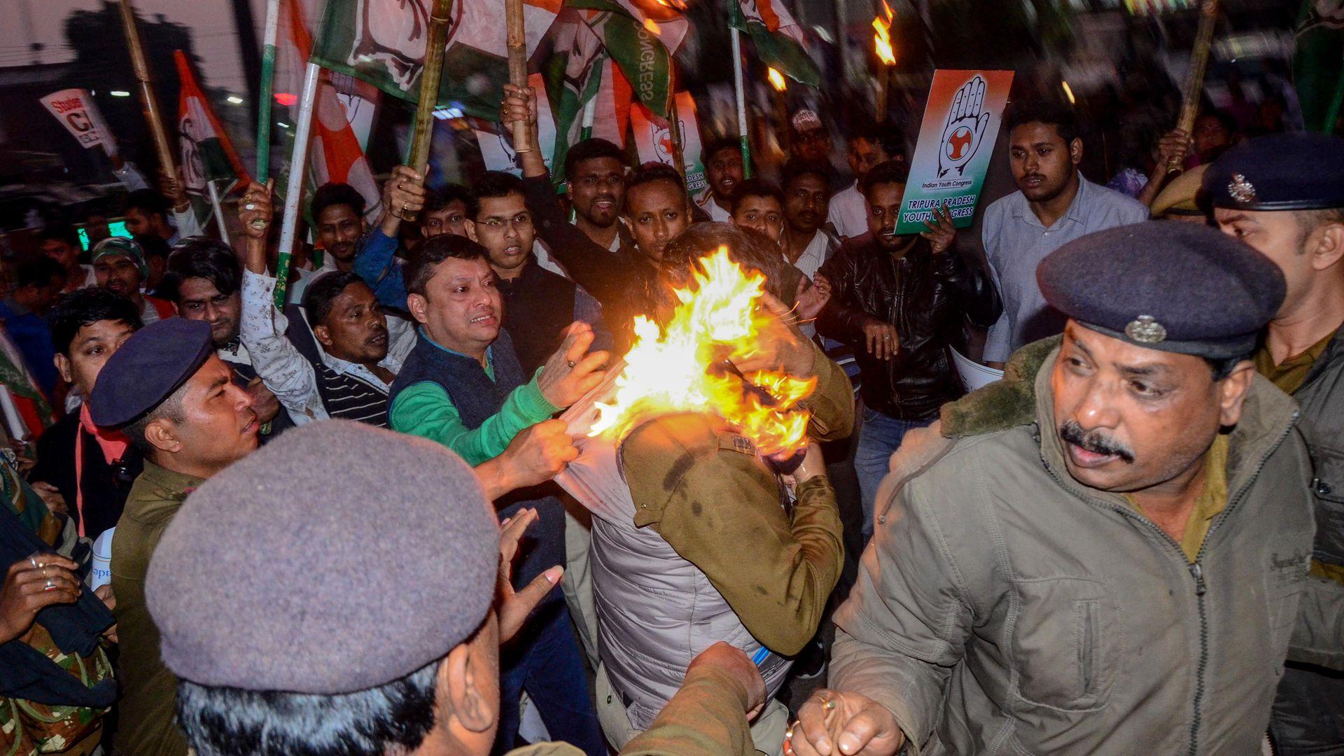 Protests against India's citizenship amendment law