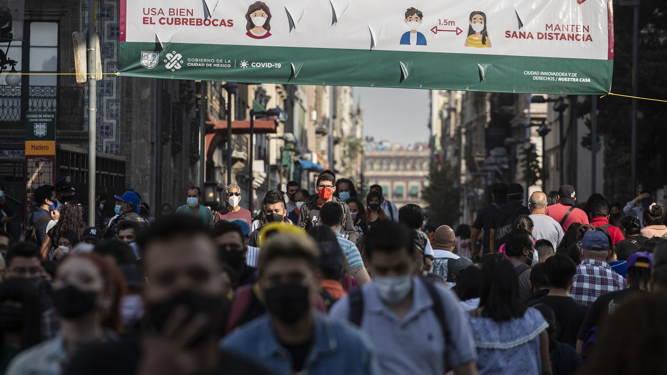 Mexico tops 1 million coronavirus cases, as death toll nears 100,000