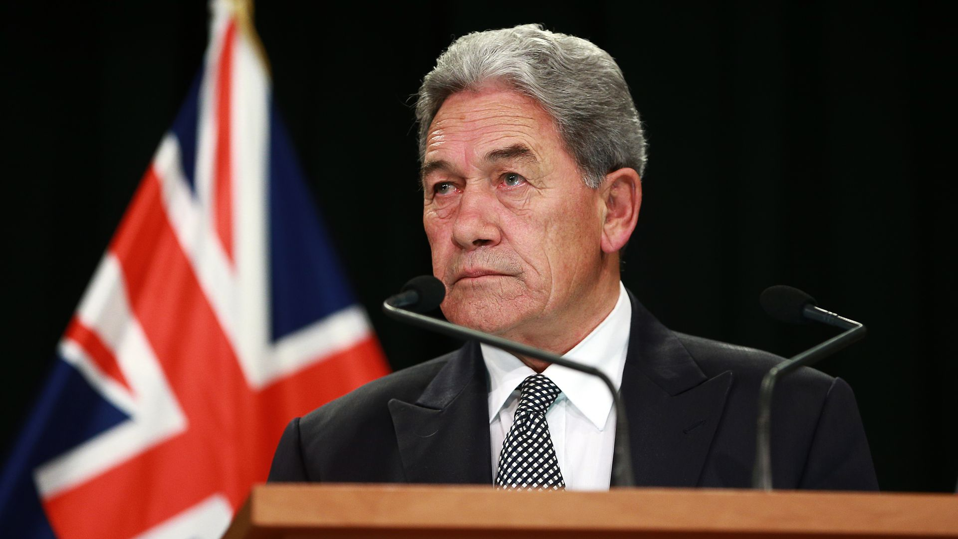 New Zealand's acting Prime Minister Winston Peters says gang members must comply with the new law.