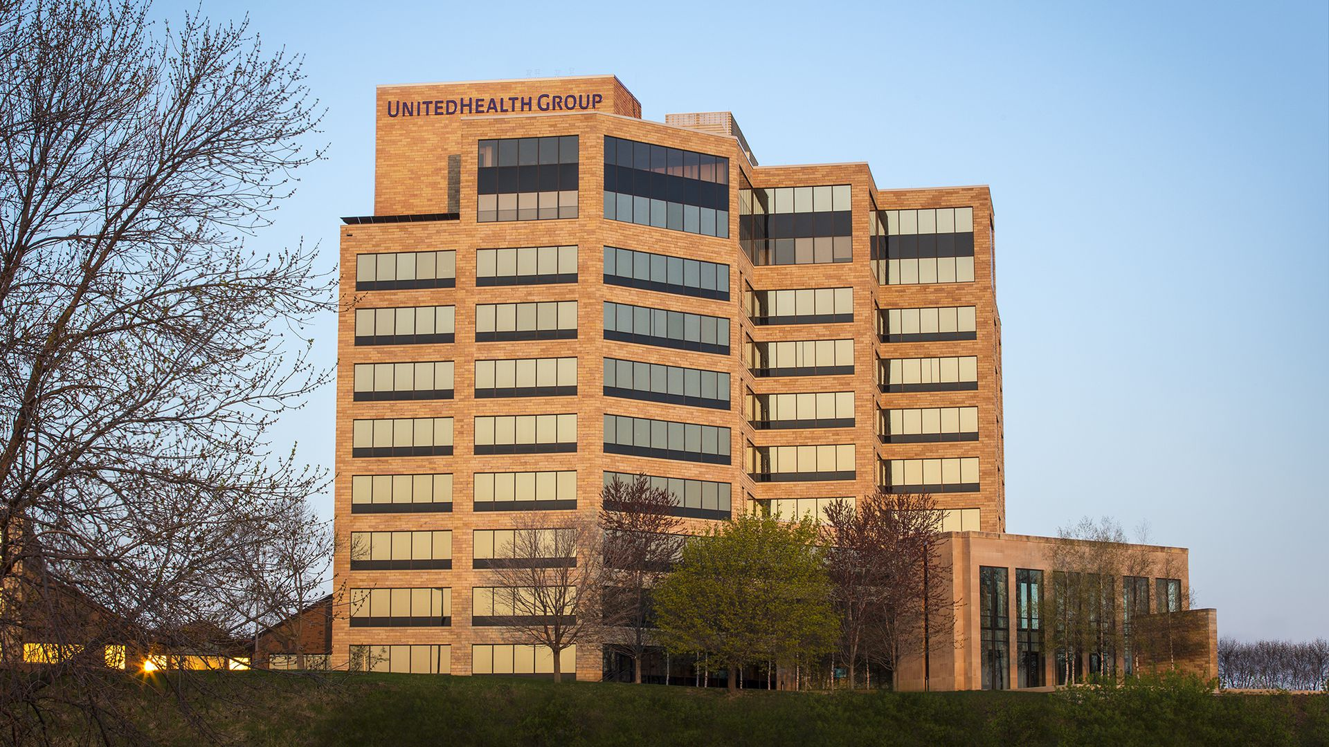 UnitedHealth Group headquarters building.