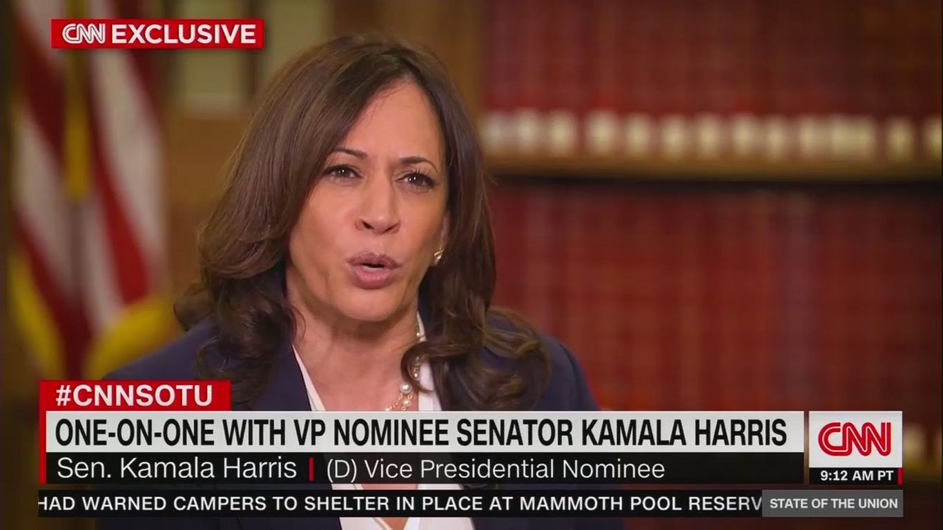"Harris rebukes Barr: ""We do have two systems of justice in America"""
