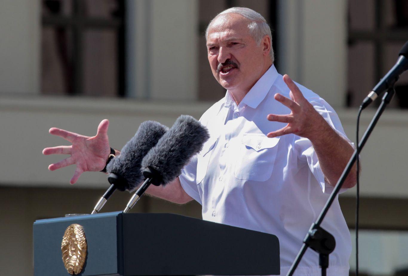 U.K. and Canada sanction Belarus dictator over rigged election
