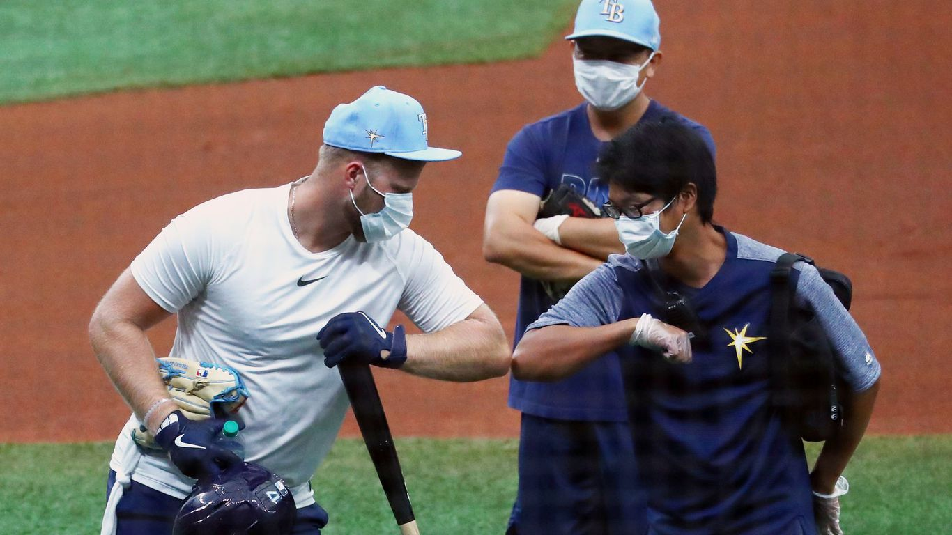 axios.com - Kendall Baker - Sports return stalked by coronavirus
