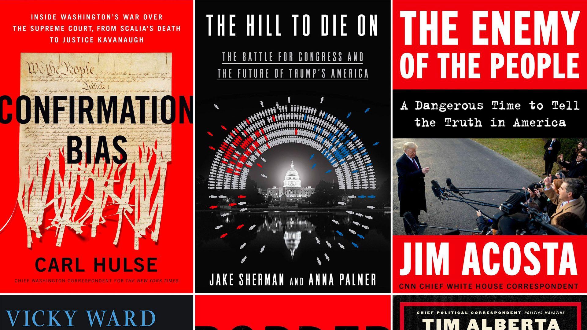 Kushner, Inc., American Carnage, Border Wars: Journalists cash in on Trump's Washington