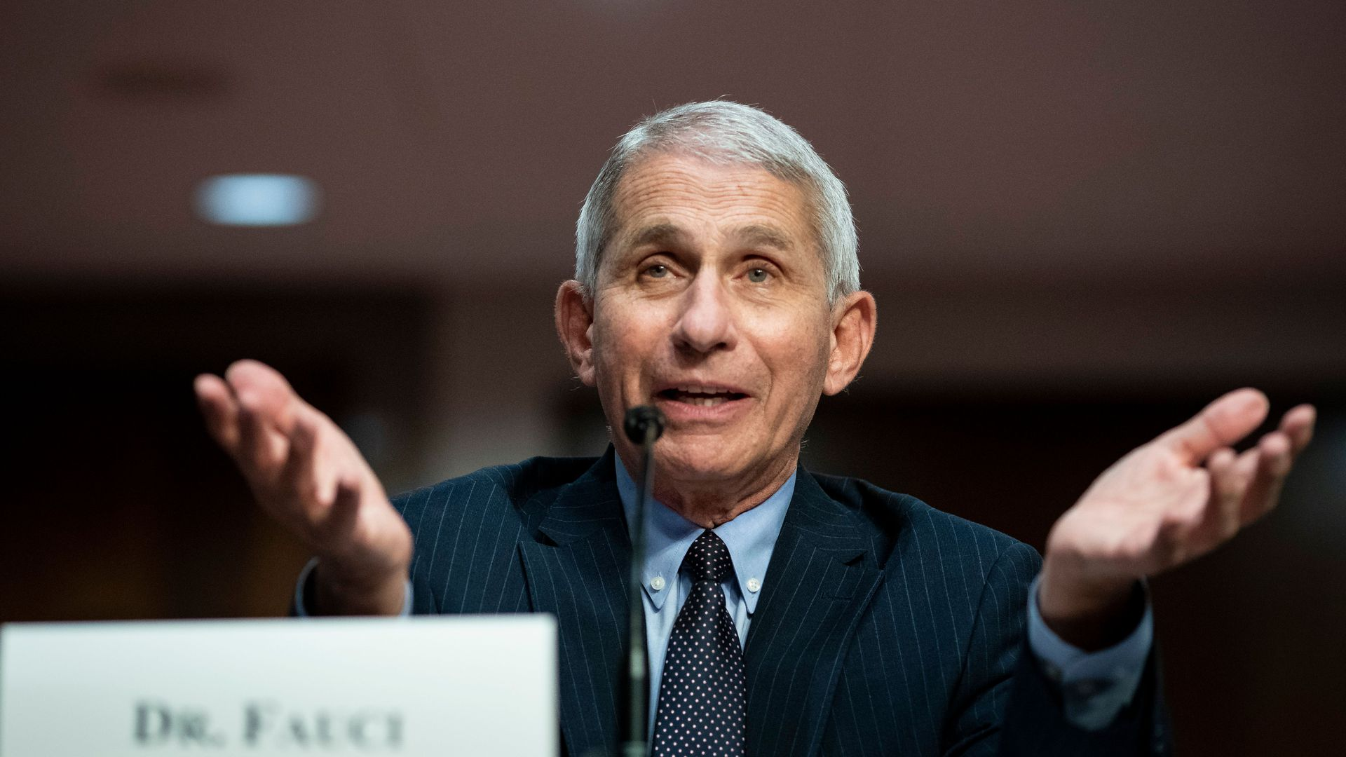 Fauci Warns Of 'False Complacency' As COVID-19 Death Rate Declines