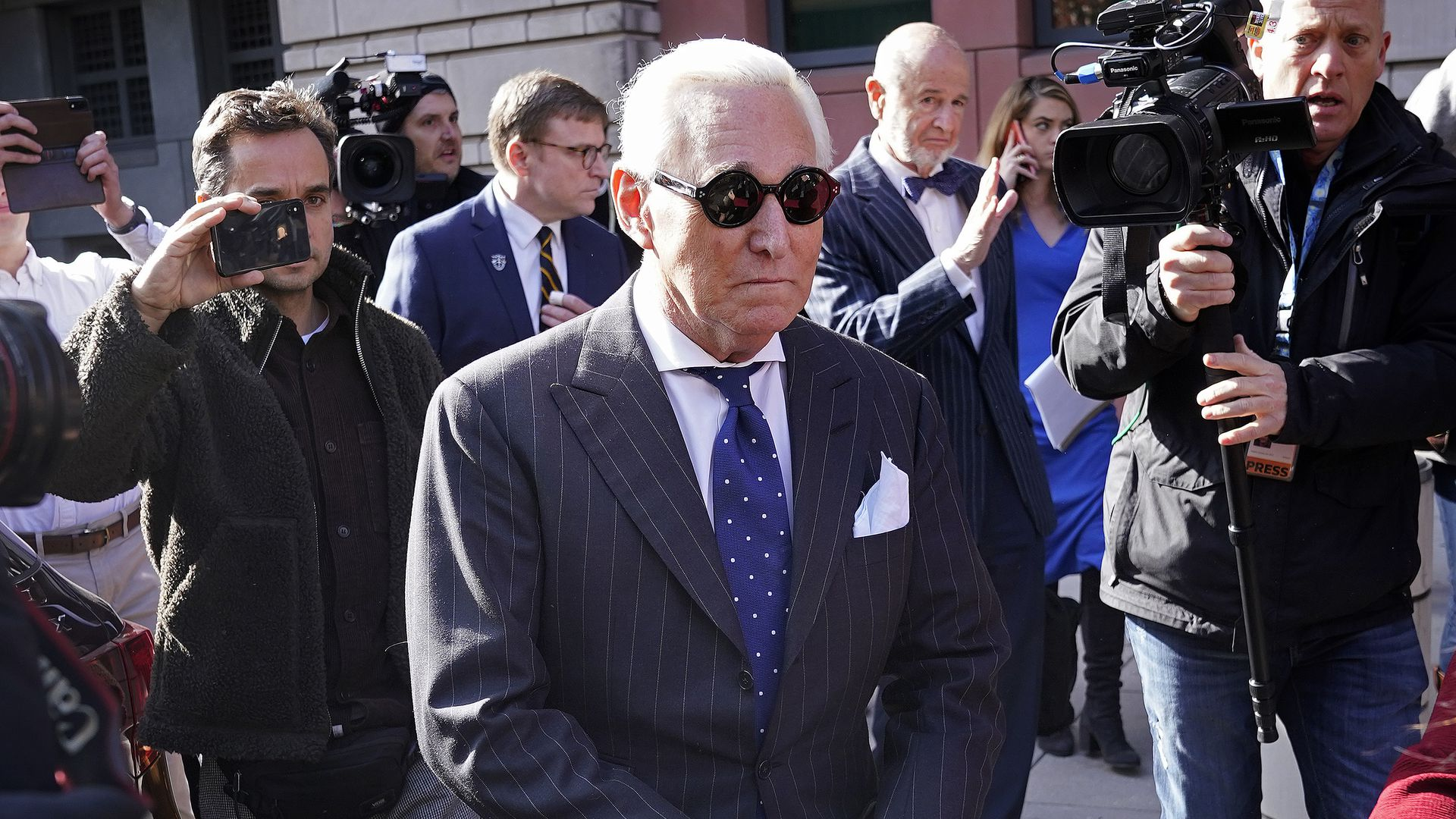 Trump forces offer president clashing advice on Roger Stone pardon