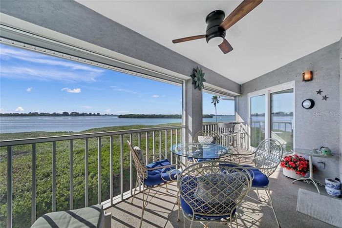 1361 Perico Point Cir #1361 screened-in porch with water views