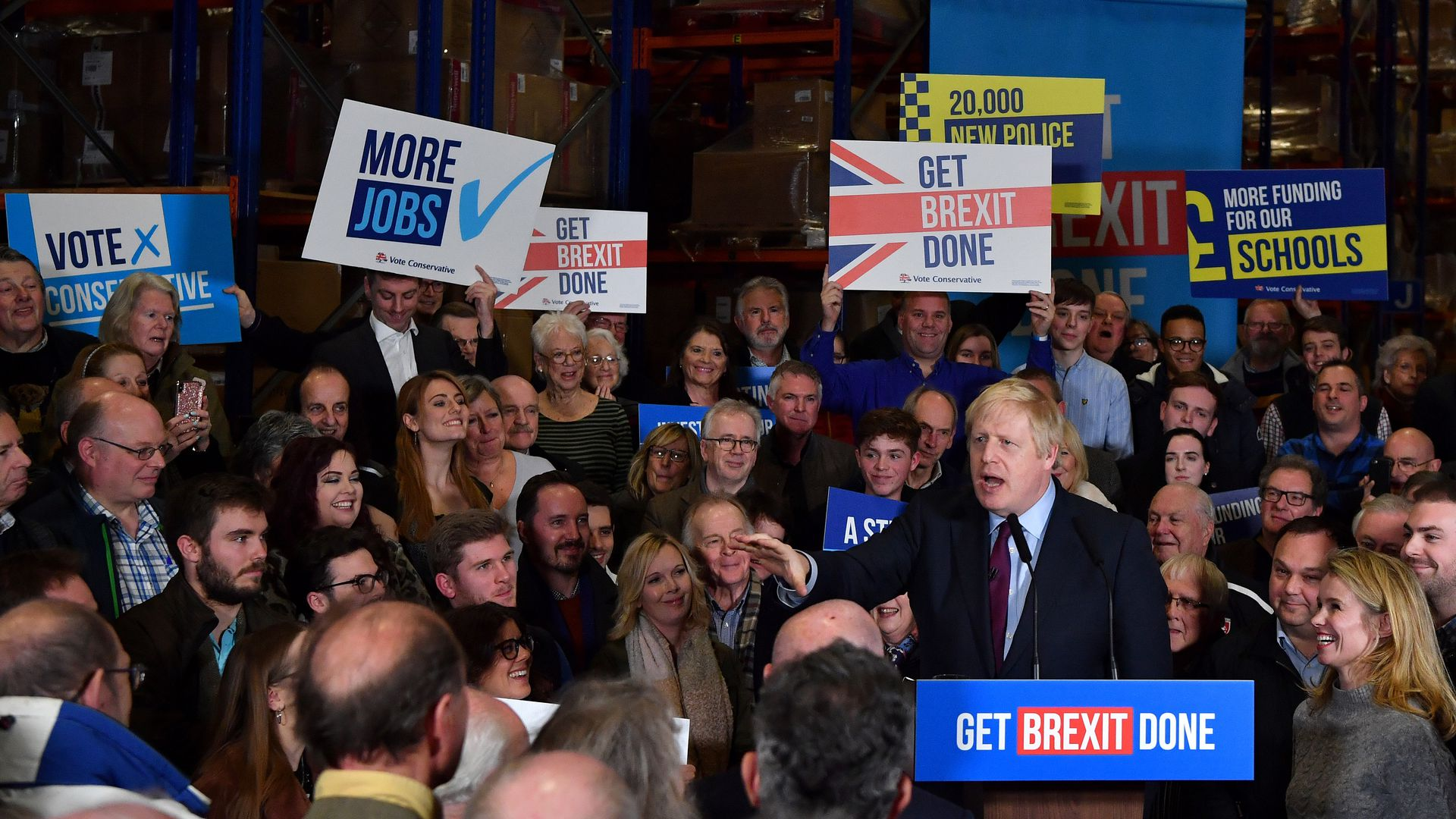 U.K. election: Polls put Boris Johnson on track for a pro-Brexit victory