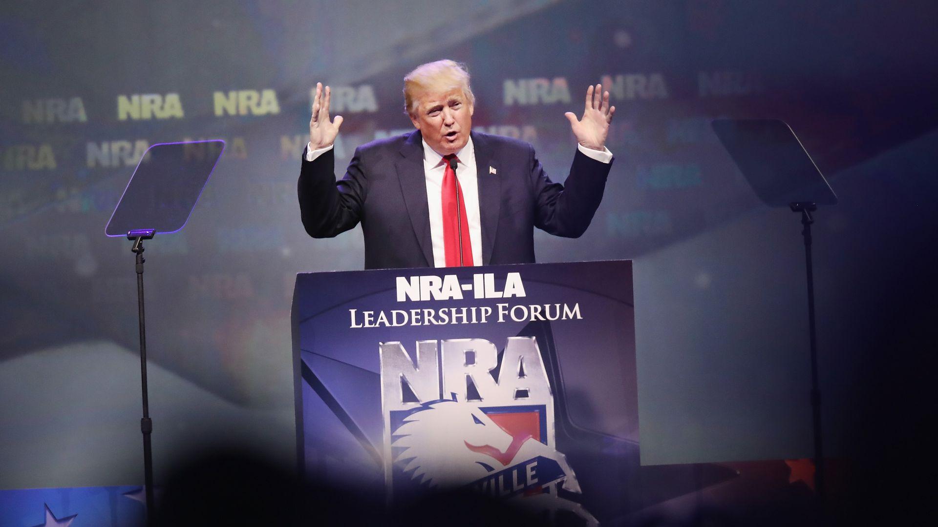 NRA Trump