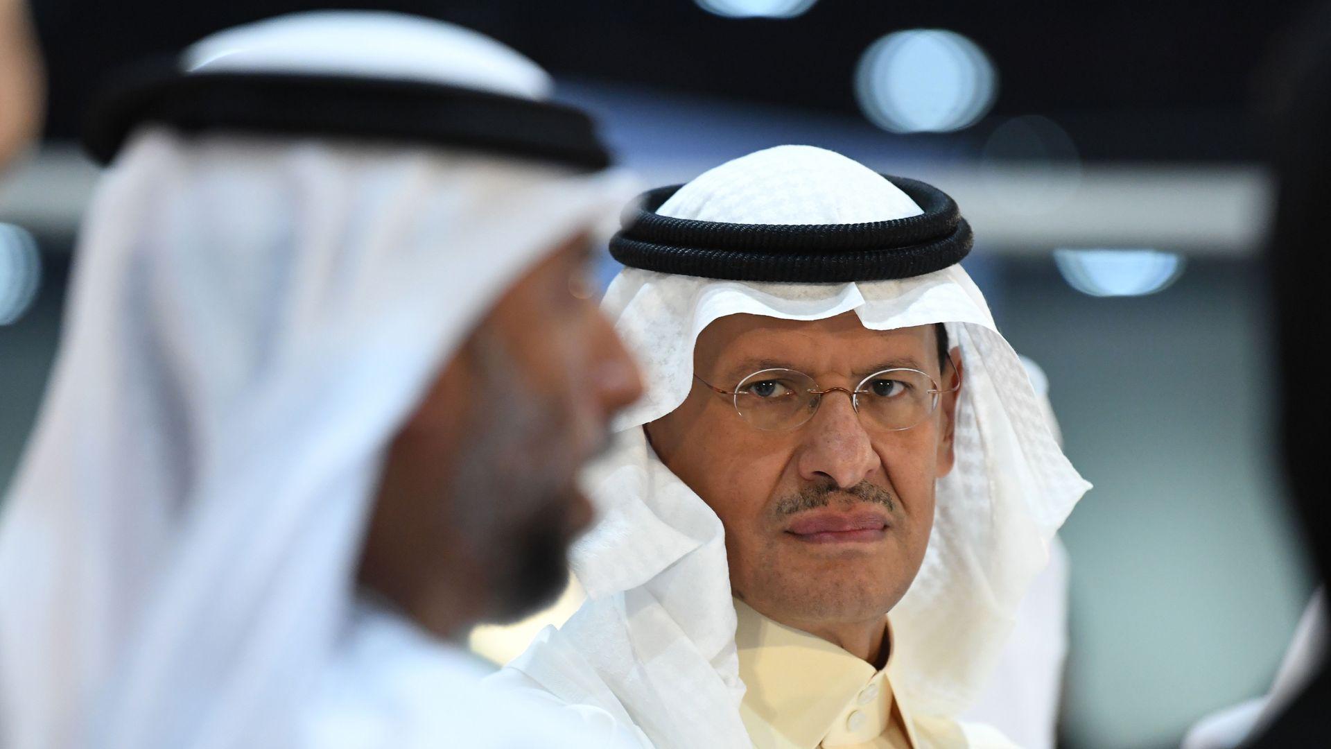 Photo of the Saudi Arabia's new energy minister, Prince Abdulaziz bin Salman
