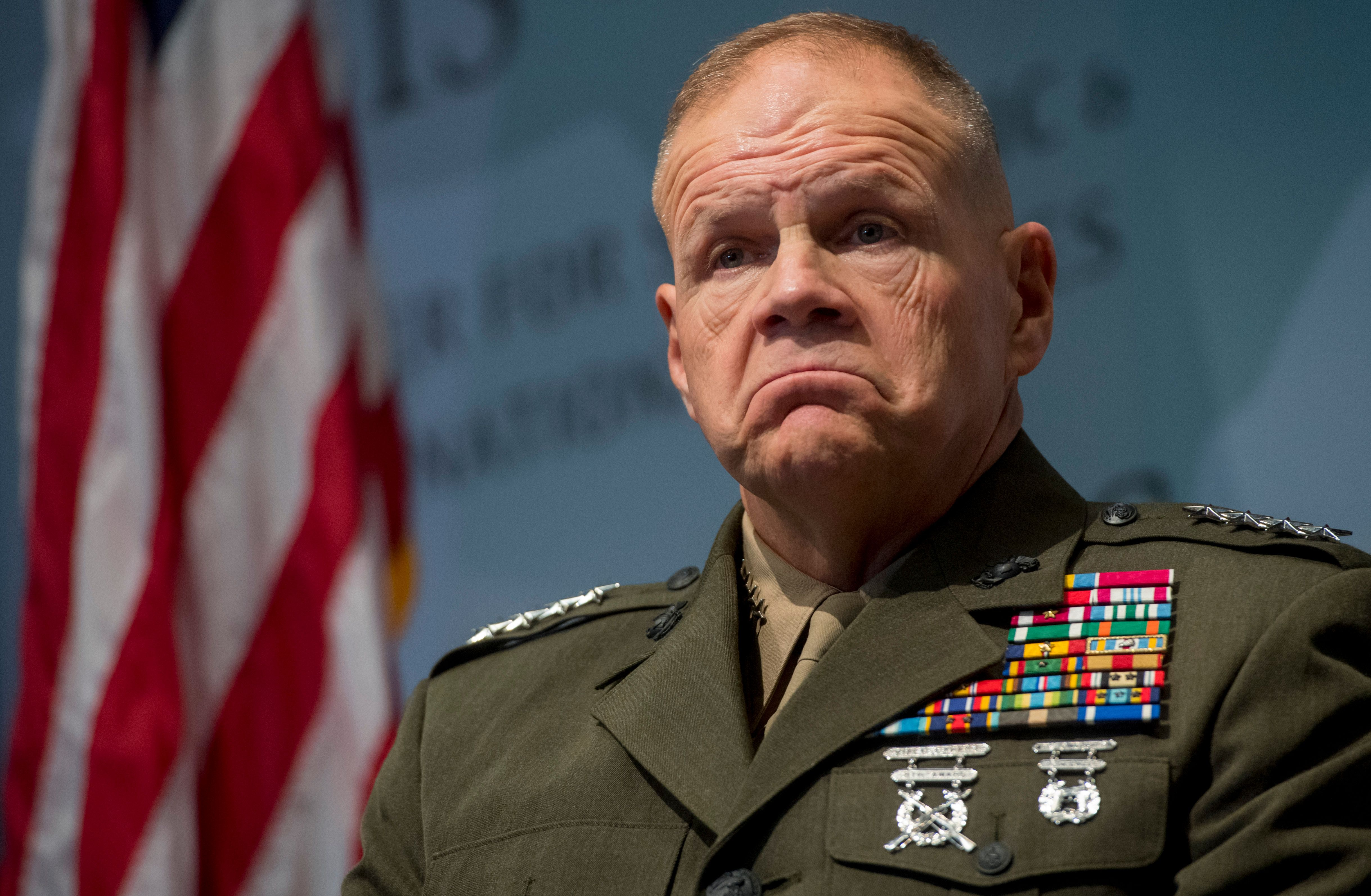 """Top general on details of Trump's withdrawal plans: """"I have no idea"""" - Axios"""