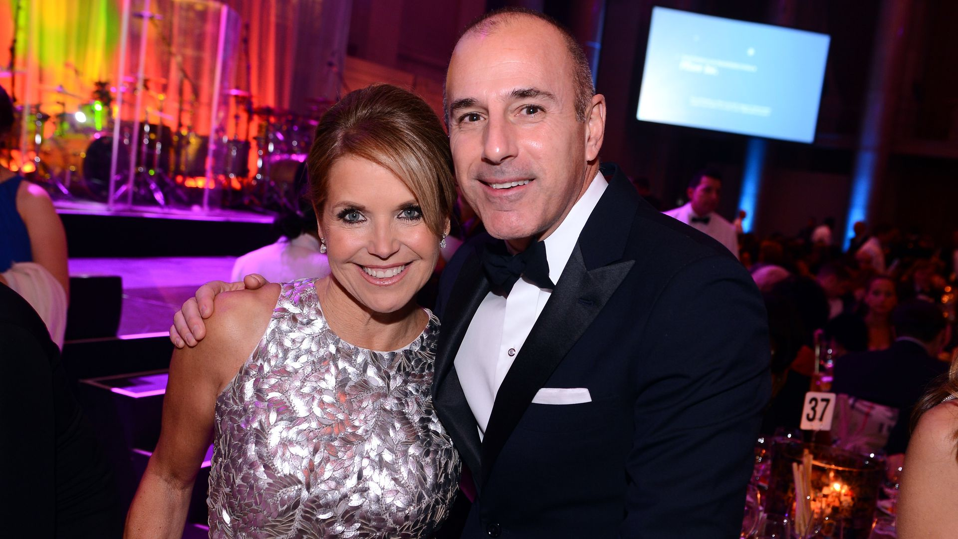 Katie Couric and Matt Lauer.