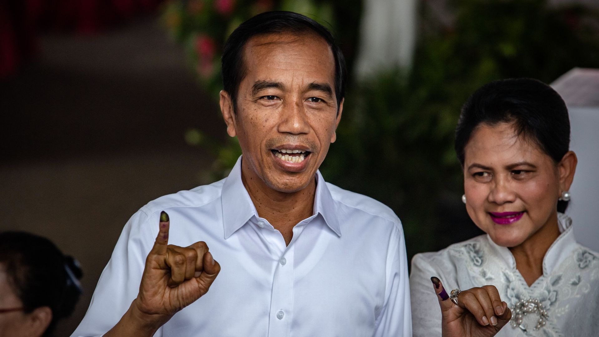 Indonesian President Joko Widodo has won the country's election.