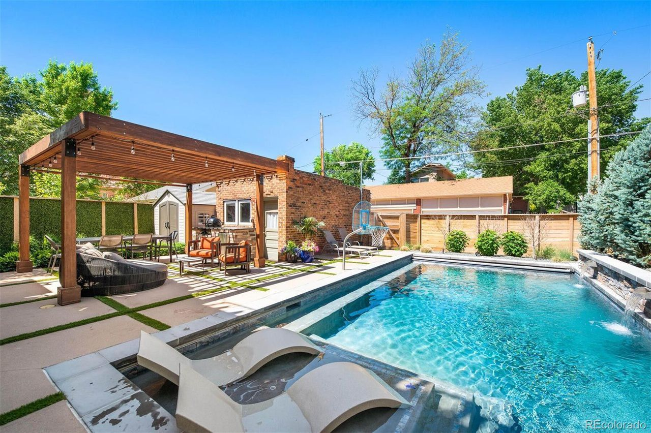 1281 S. High St.  pool