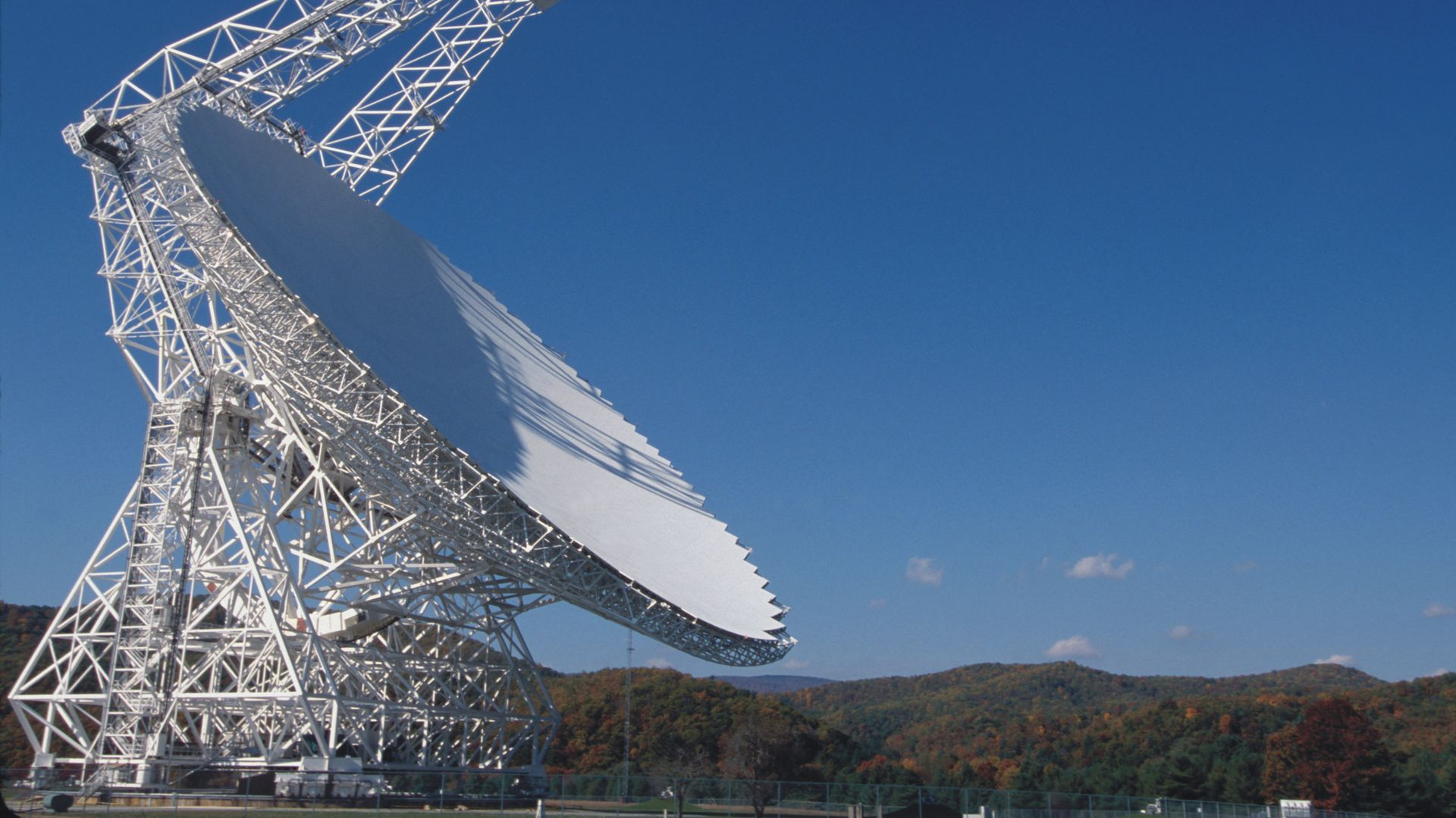 The Green Bank Telescope in West Virginia monitored fast radio burst (FRB) 121102.