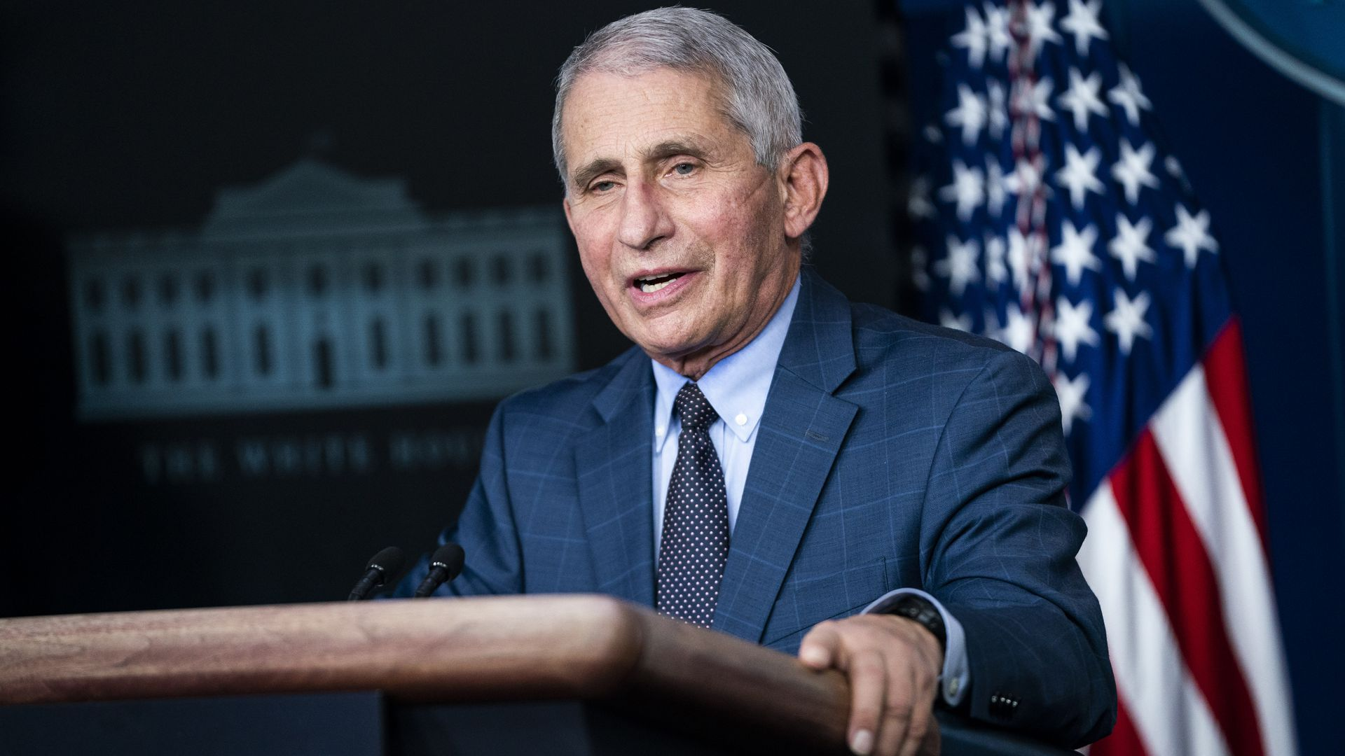 Anthony Fauci at the White House