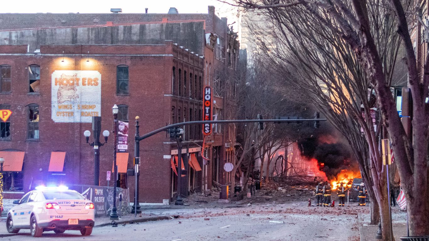 Voice boomed before Music City explosion thumbnail