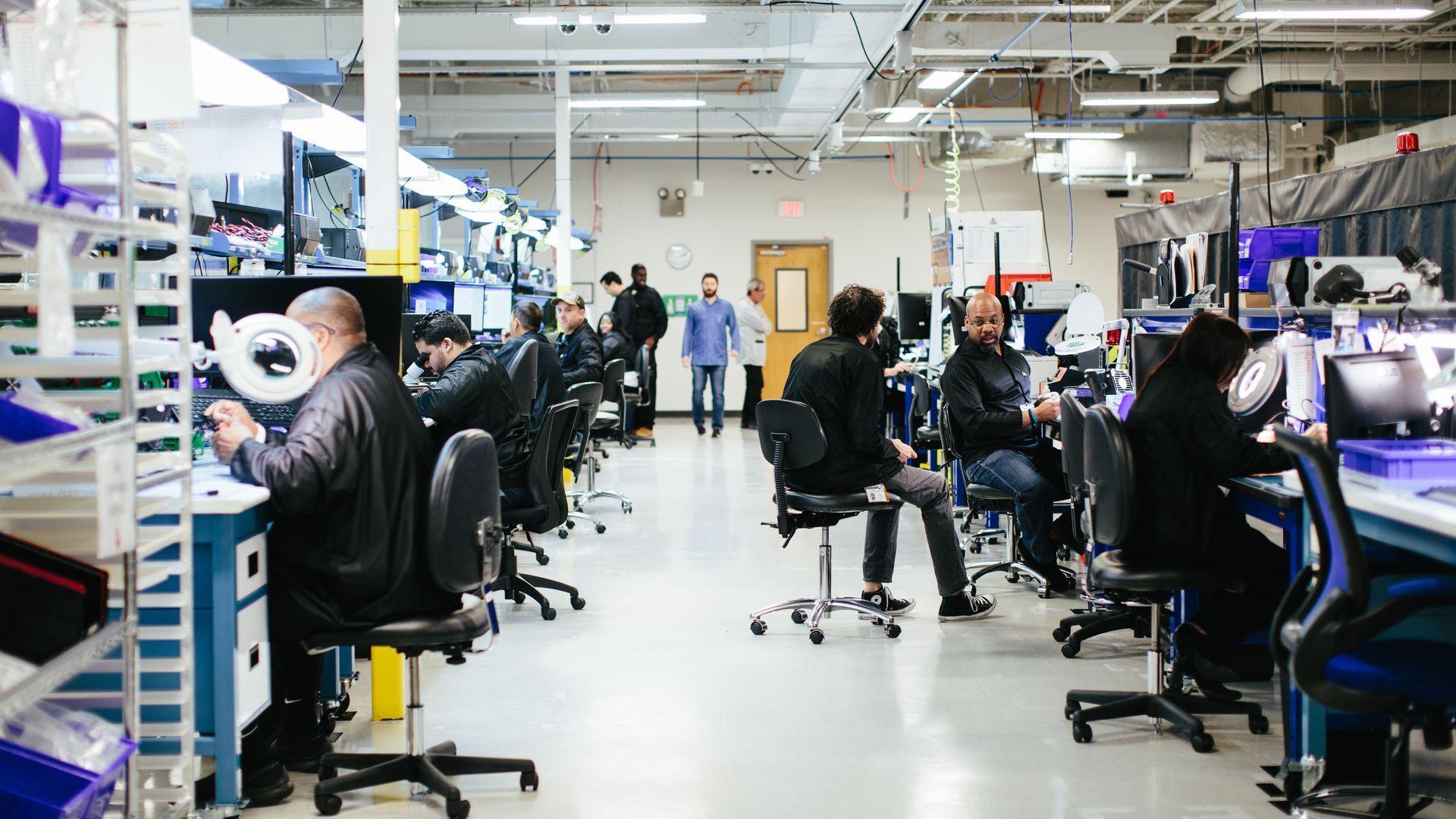 Photo of Luminar lab