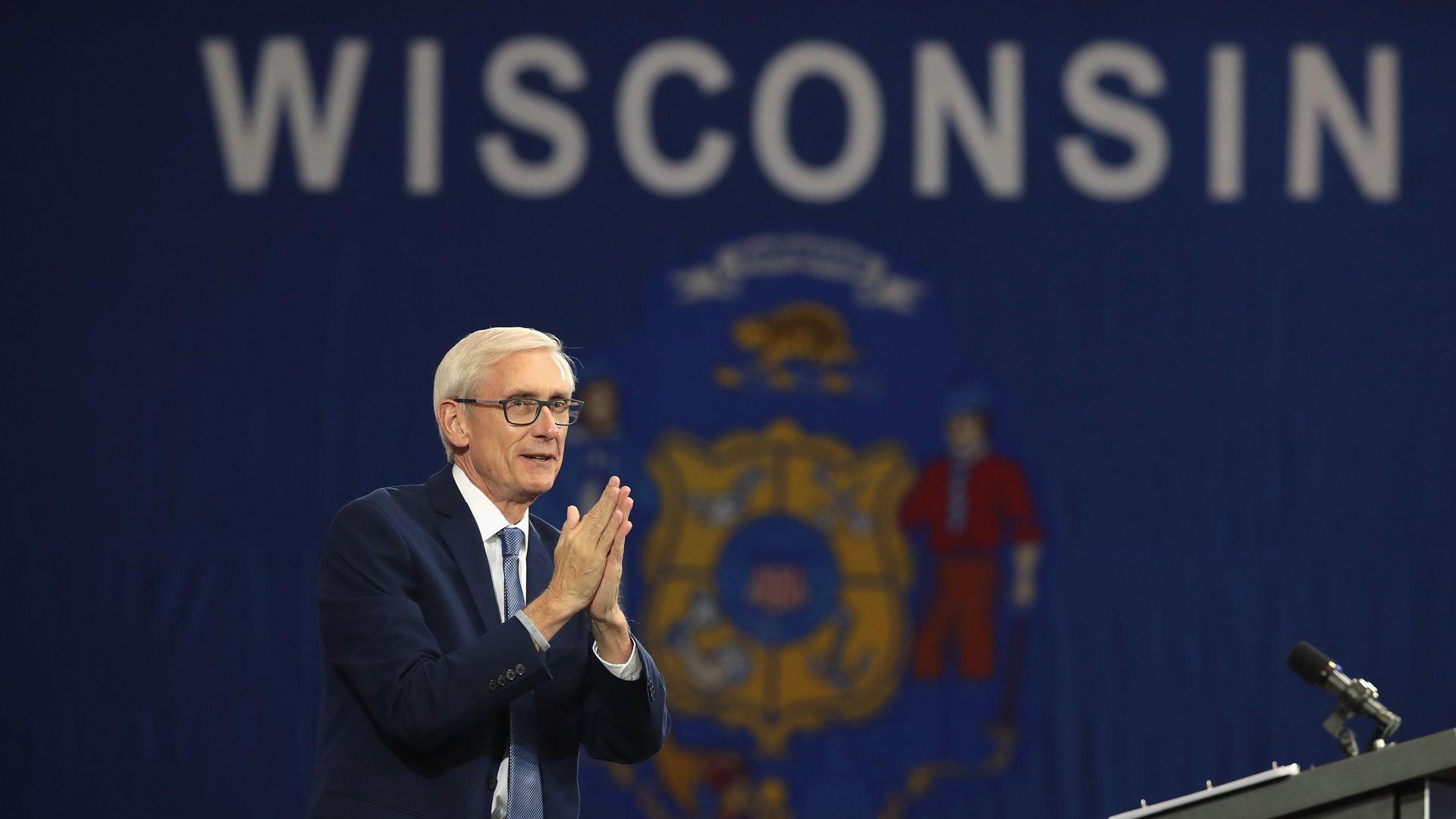 Wisconsin Democratic Gov.-elect Tony Evers