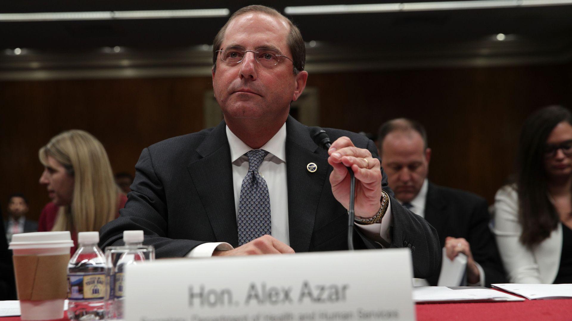 HHS Sec. Alex Azar