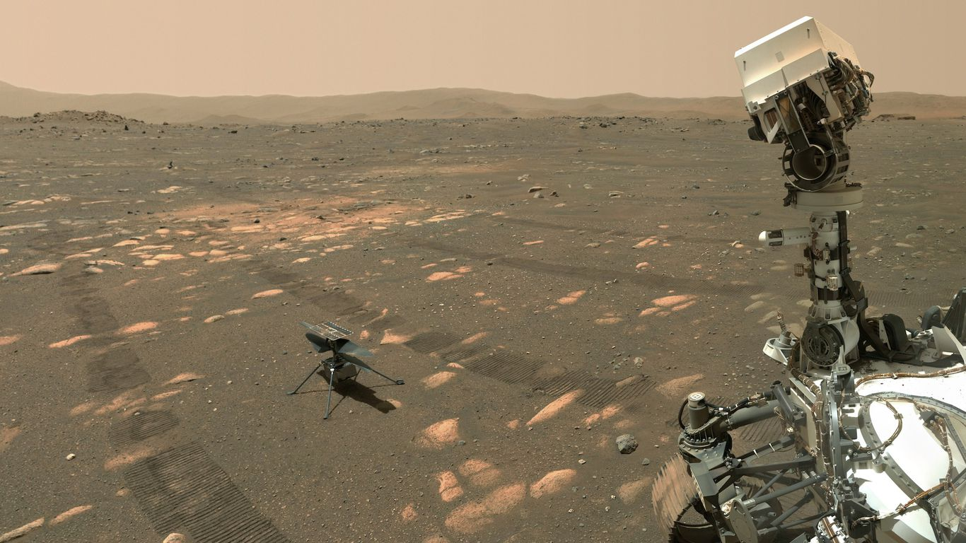 NASA's Mars helicopter to launch a new chapter of space exploration thumbnail