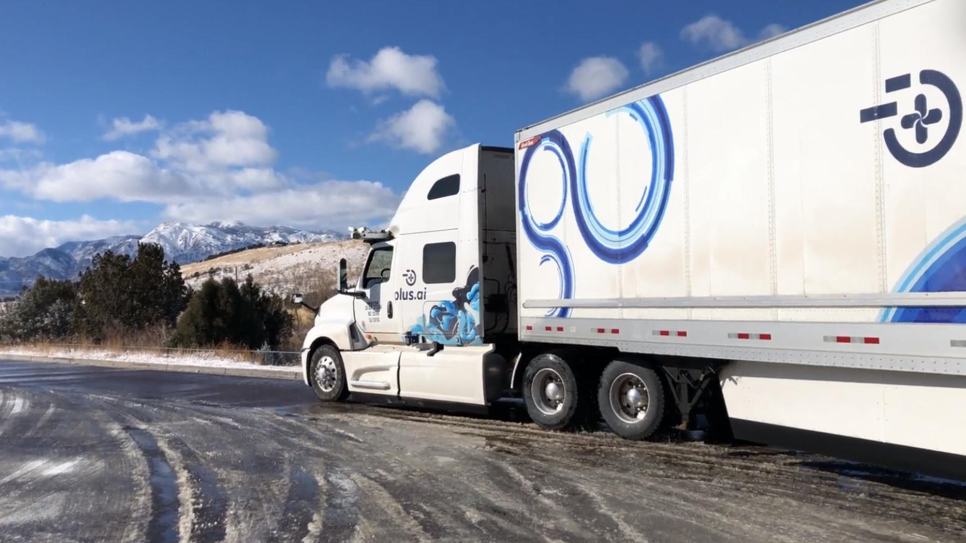 Self-driving truck makes historic cross-country trek