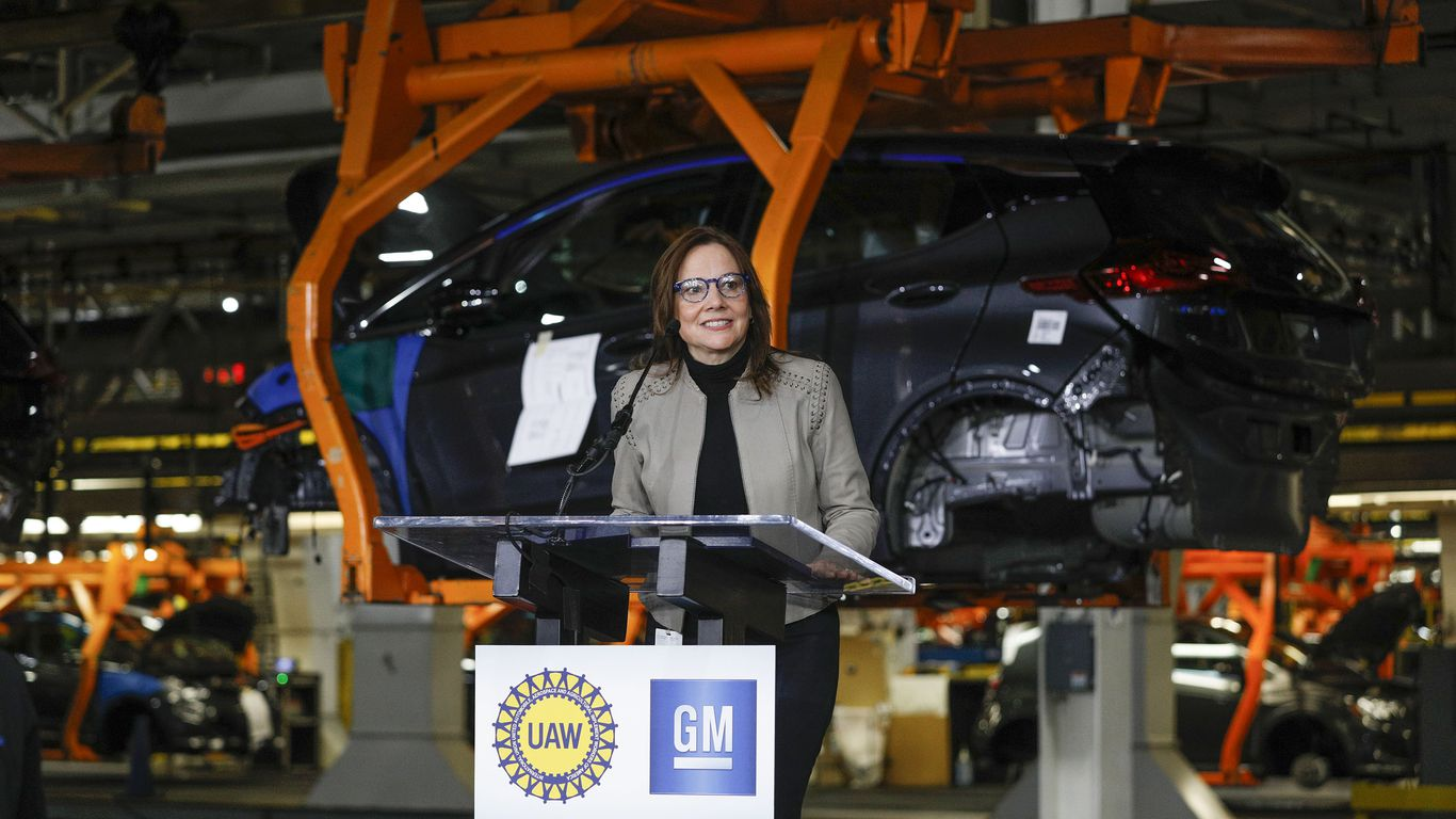 GM plans to end sales of gasoline powered cars by 2035 thumbnail