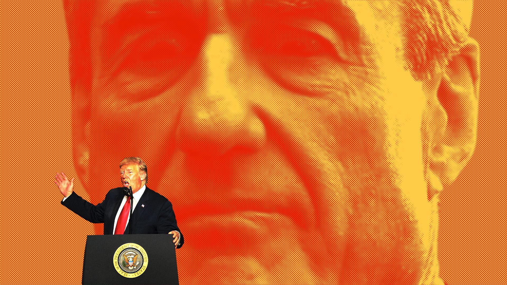A historic Trump tell-all