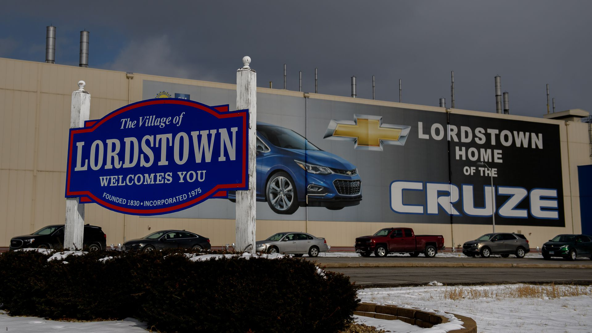 GM confirms talks to sell Lordstown plant to electric vehicle maker Workhorse